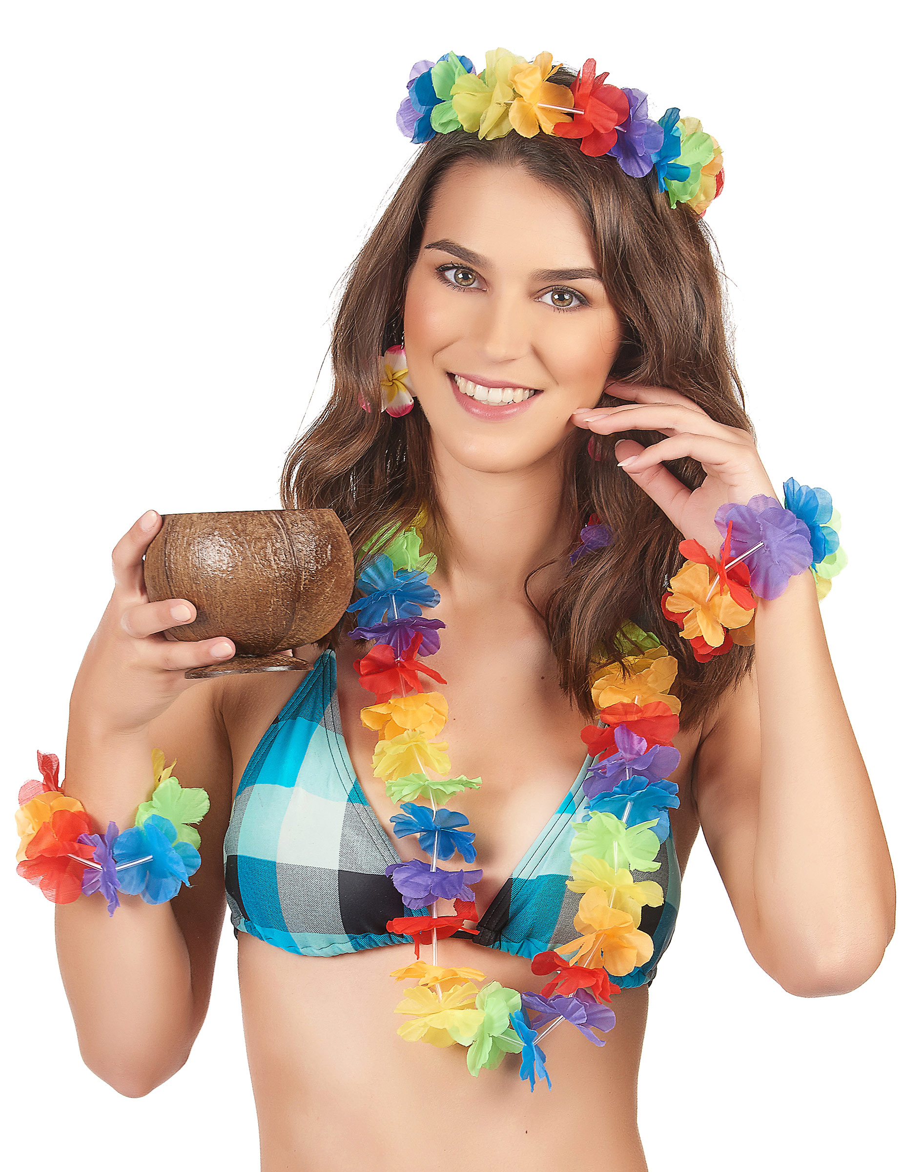 Set Of Hawaiian Island For Women Accessories And Fancy