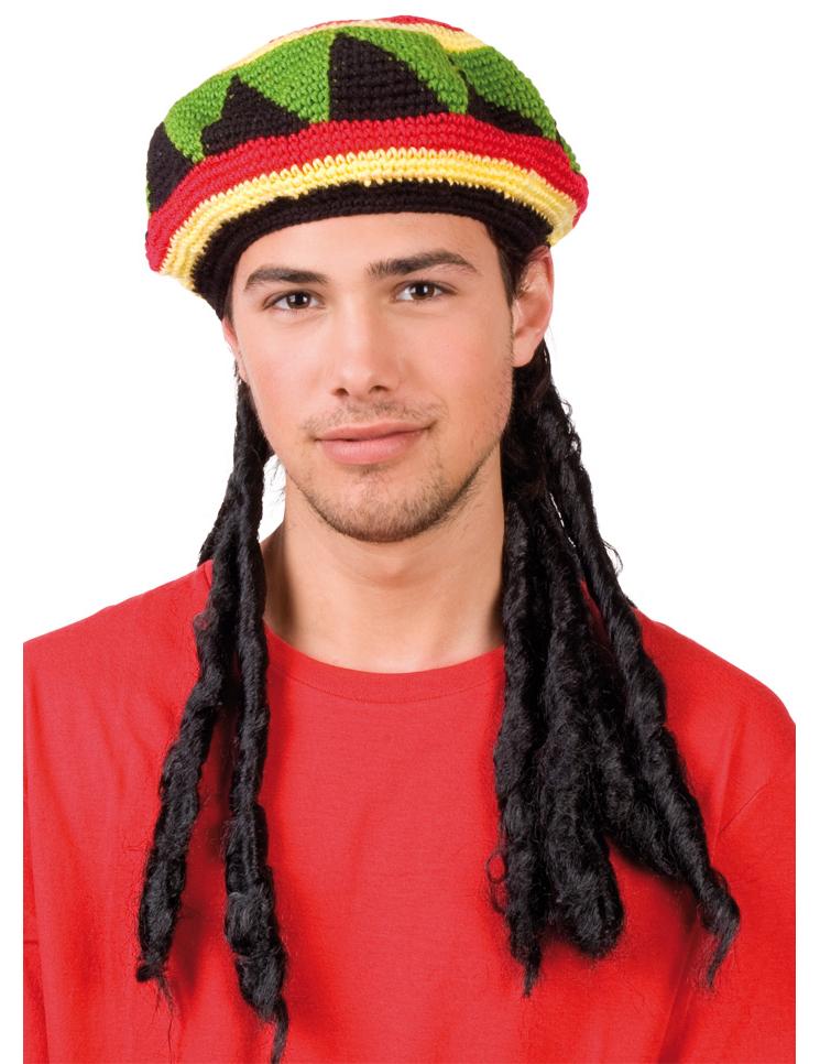 Main - Hats - Rasta hat adult