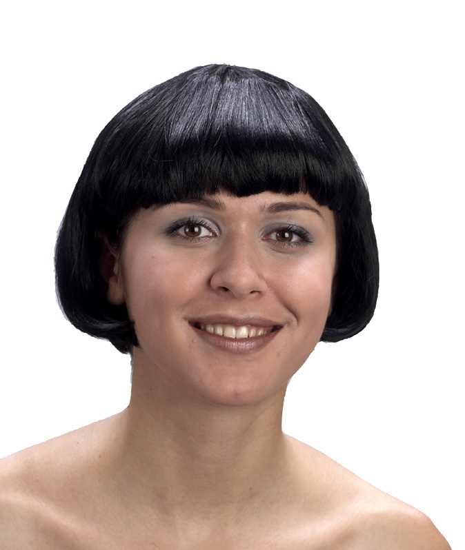 Main - Wigs - Short Black Wig for Women