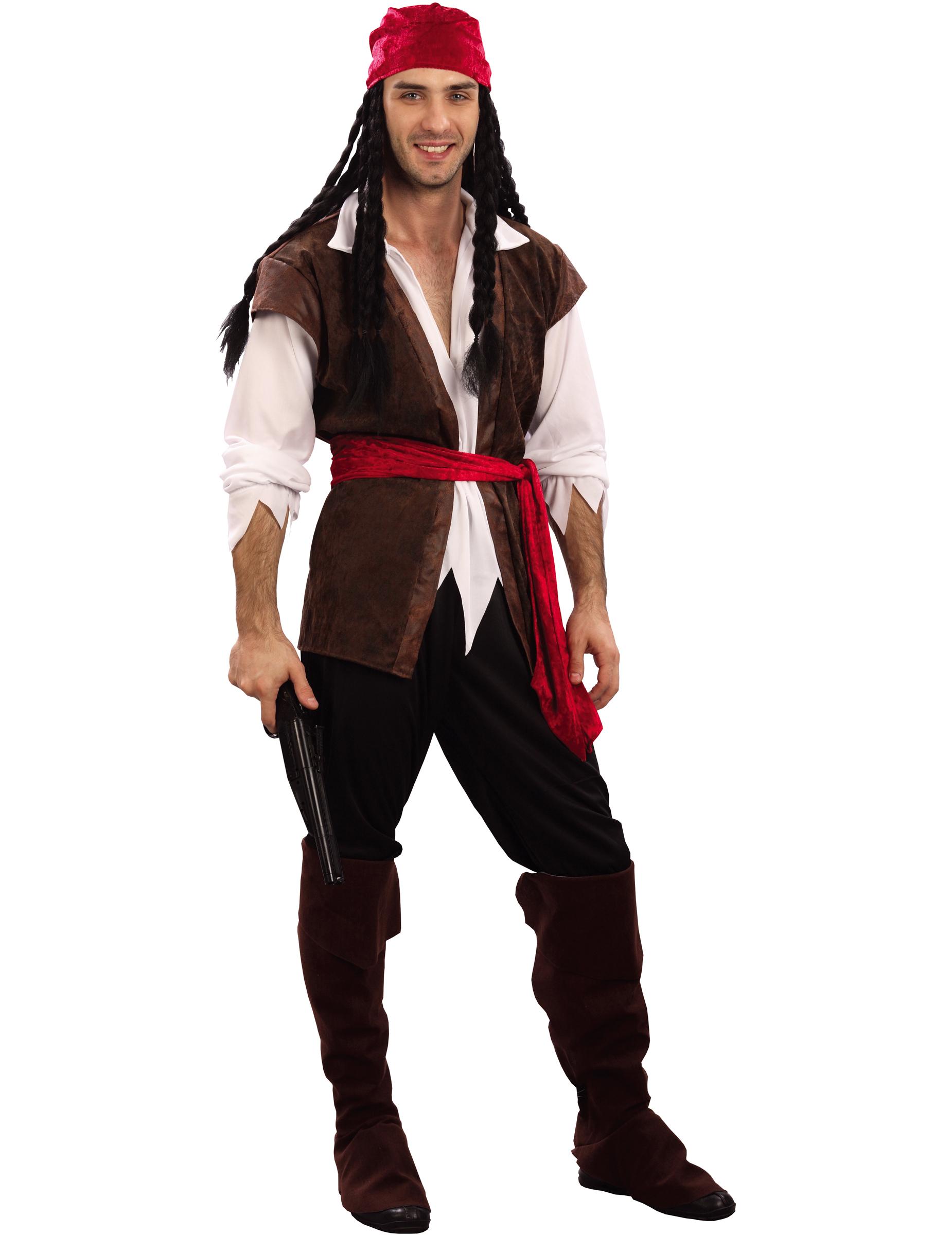Disfraz Casero de Pirata Para Hombre Disfraz de Hombre Pirata