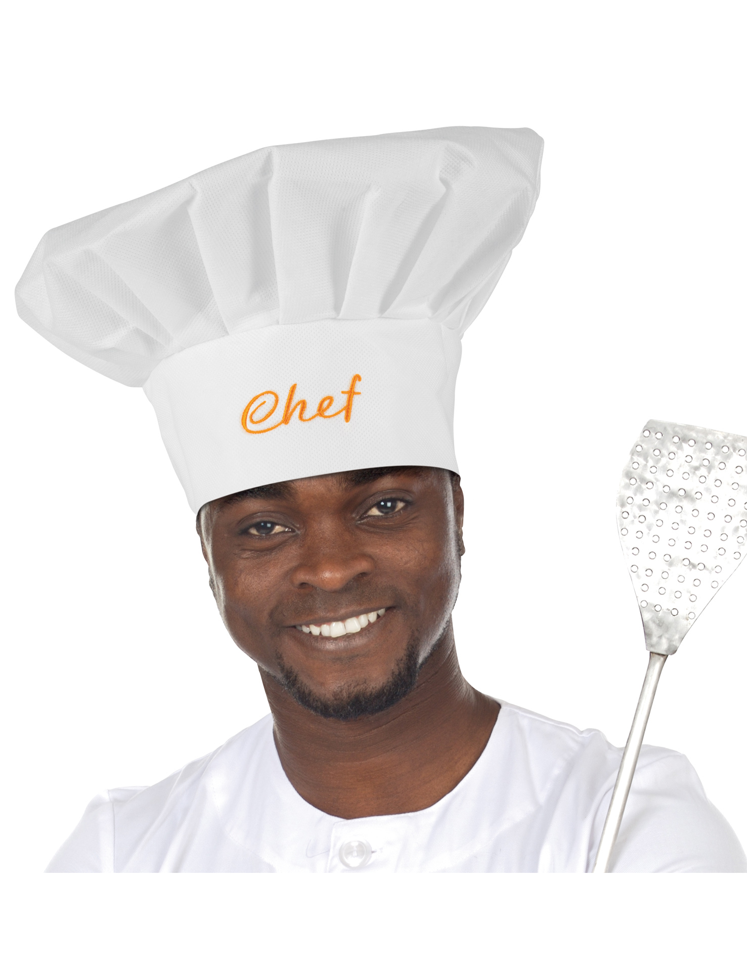 Chef 39 s toque for adults hats and fancy dress costumes - What is a chef de cuisine ...