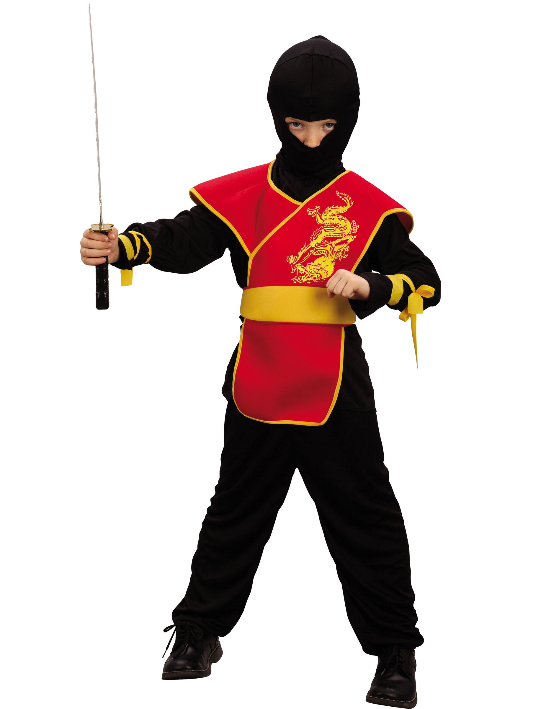 red ninja costume for boys. Black Bedroom Furniture Sets. Home Design Ideas