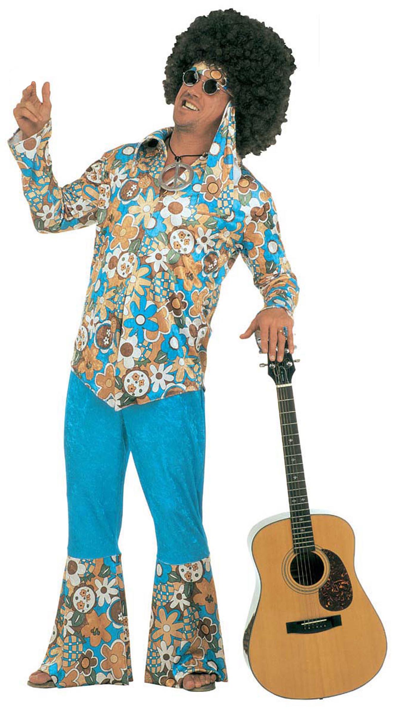 Deguisement baba cool - Vetements hippie baba cool ...