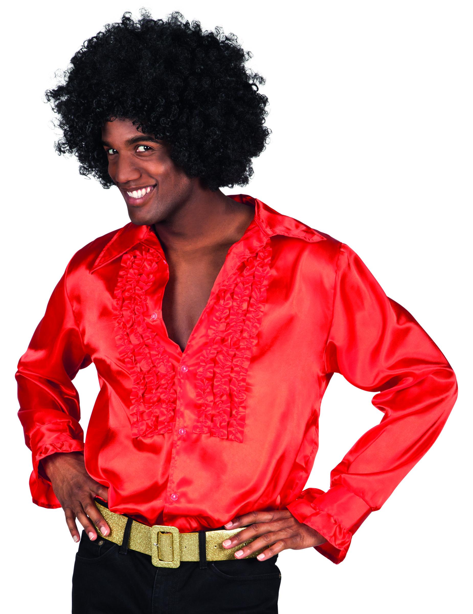 chemise disco rouge homme deguise toi achat de. Black Bedroom Furniture Sets. Home Design Ideas