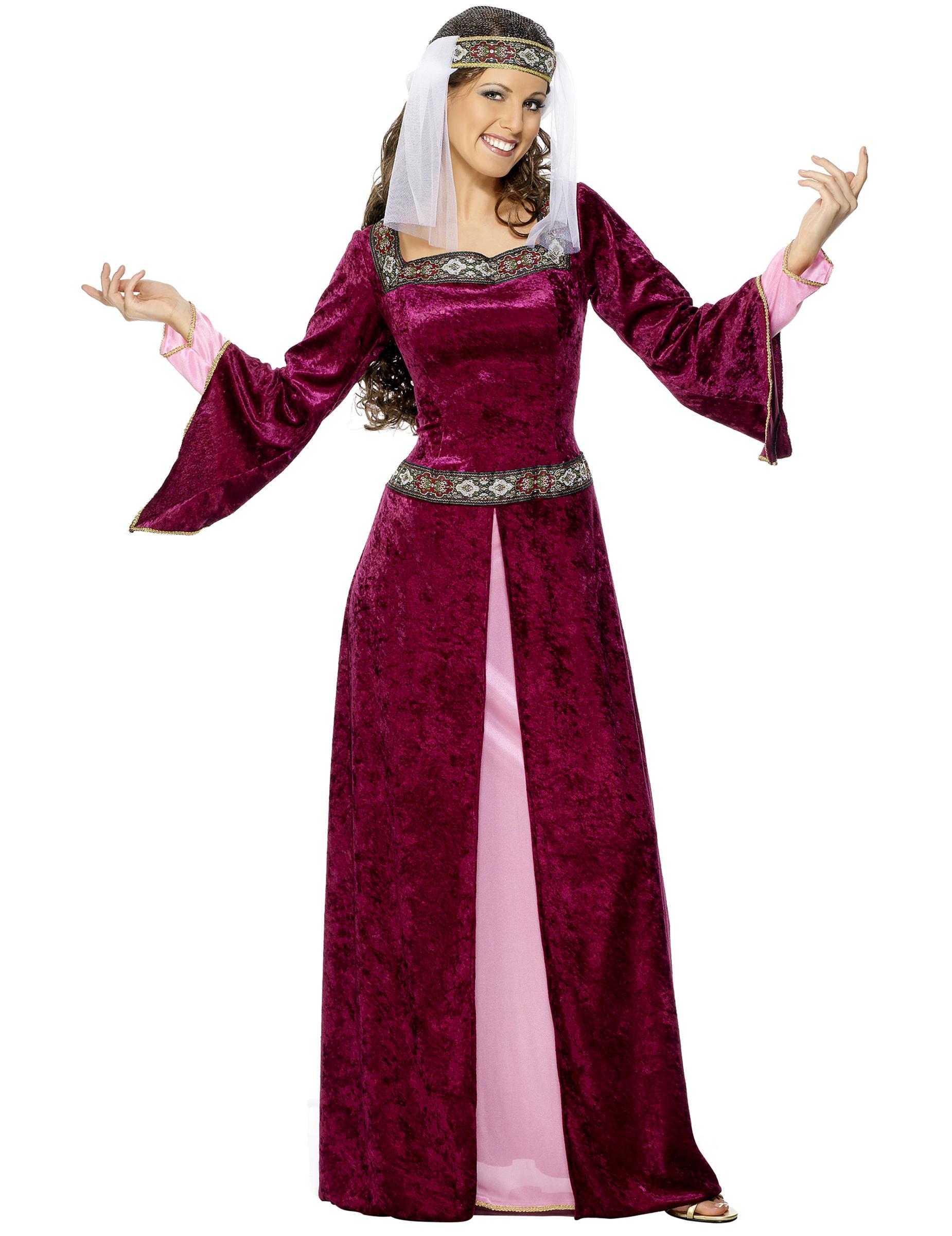 3a5617d4316 Déguisement reine médiévale efffet velours femme   Deguise-toi ...
