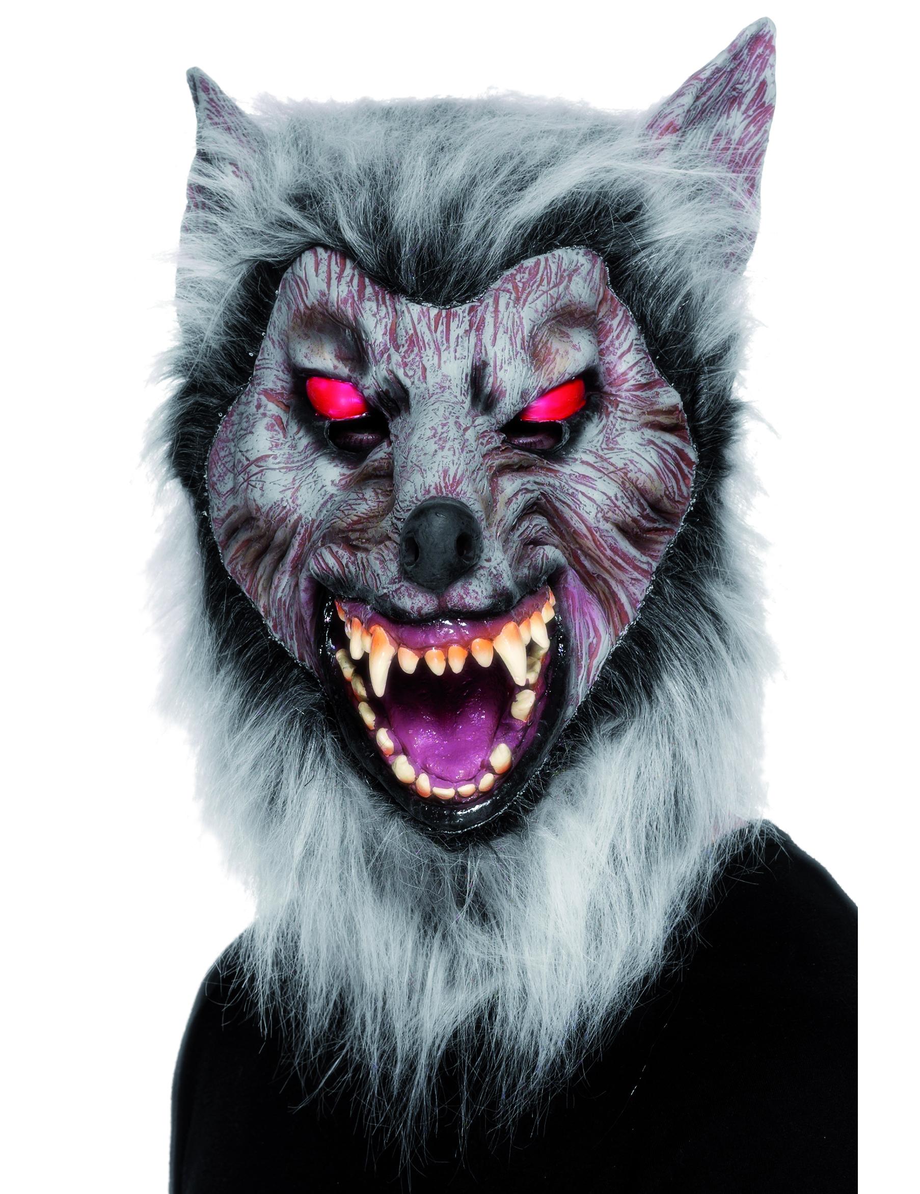 Masque loup garou adulte deguise toi achat de masques - Masque halloween film ...