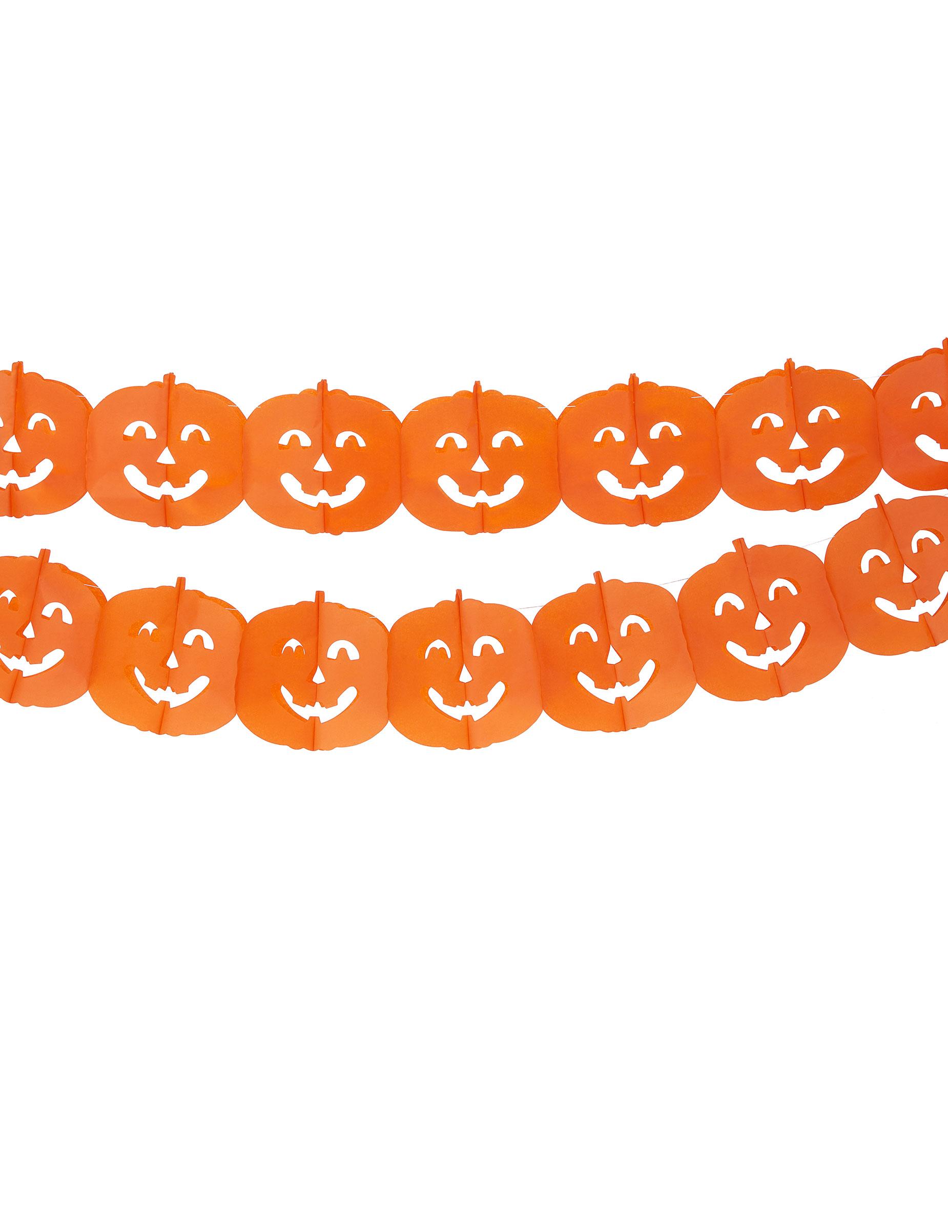 Guirlande citrouille halloween deguise toi achat de decoration animation - Guirlande halloween a imprimer ...