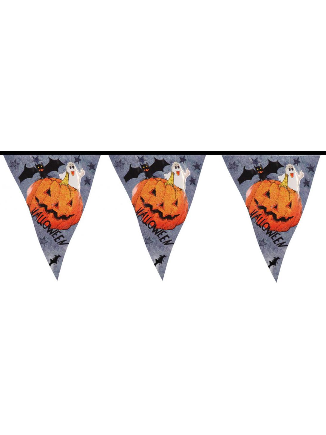 Guirlande citrouille halloween deguise toi achat de decoration animation - Guirlande d halloween ...