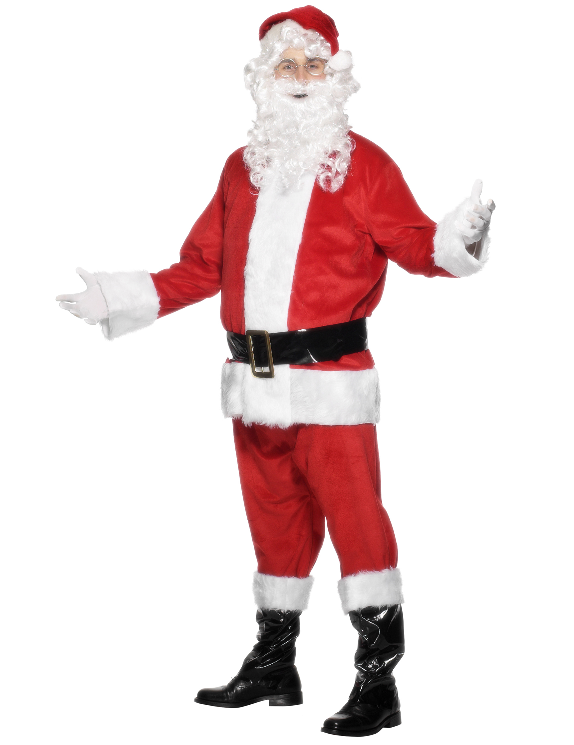 inflatable santa costume for men. Black Bedroom Furniture Sets. Home Design Ideas