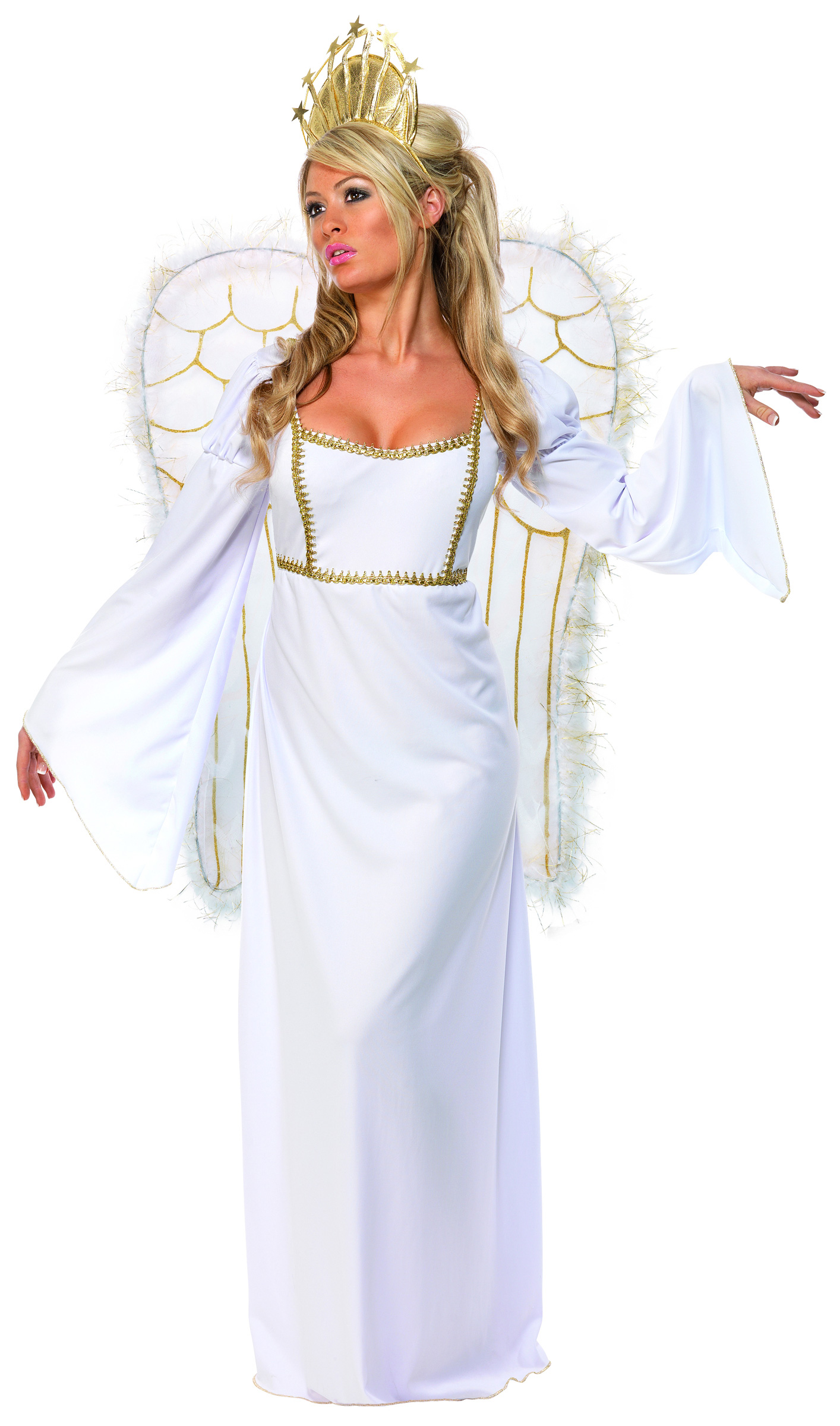 christmas angel costume for women adults costumes and. Black Bedroom Furniture Sets. Home Design Ideas