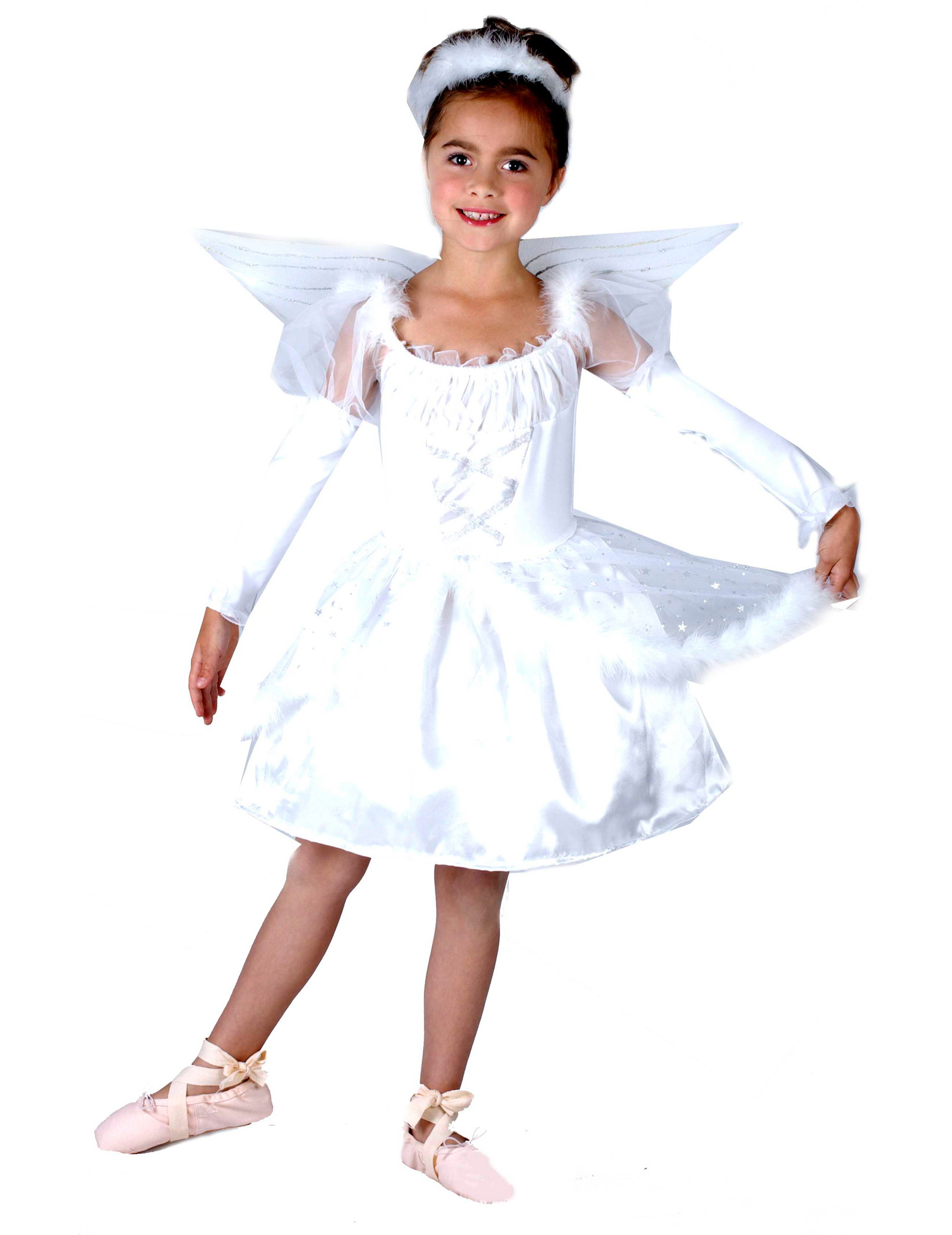 Angel Costume Girls Kids Costumes Fancy Dress