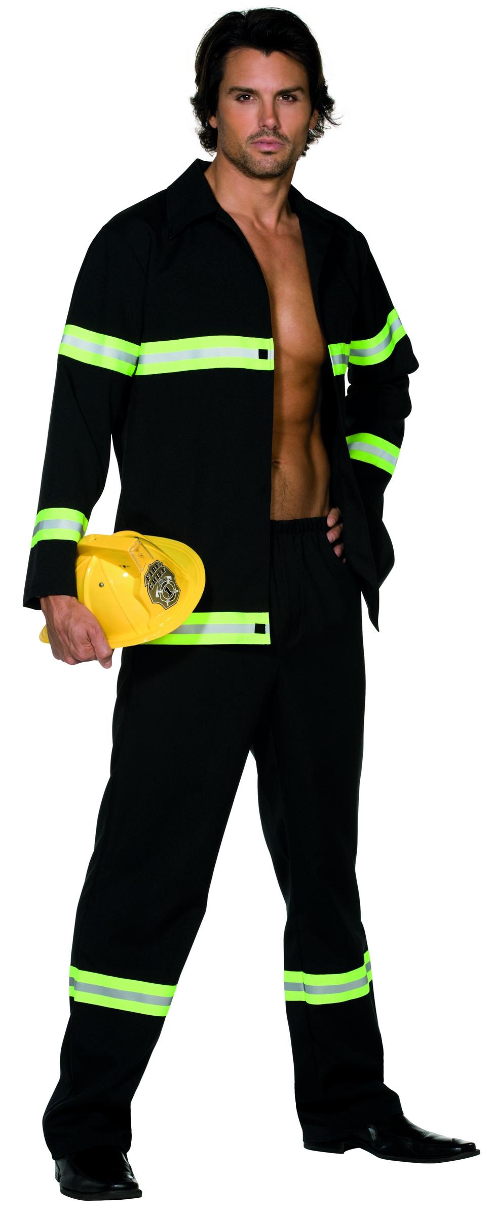 fireman costume for men. Black Bedroom Furniture Sets. Home Design Ideas