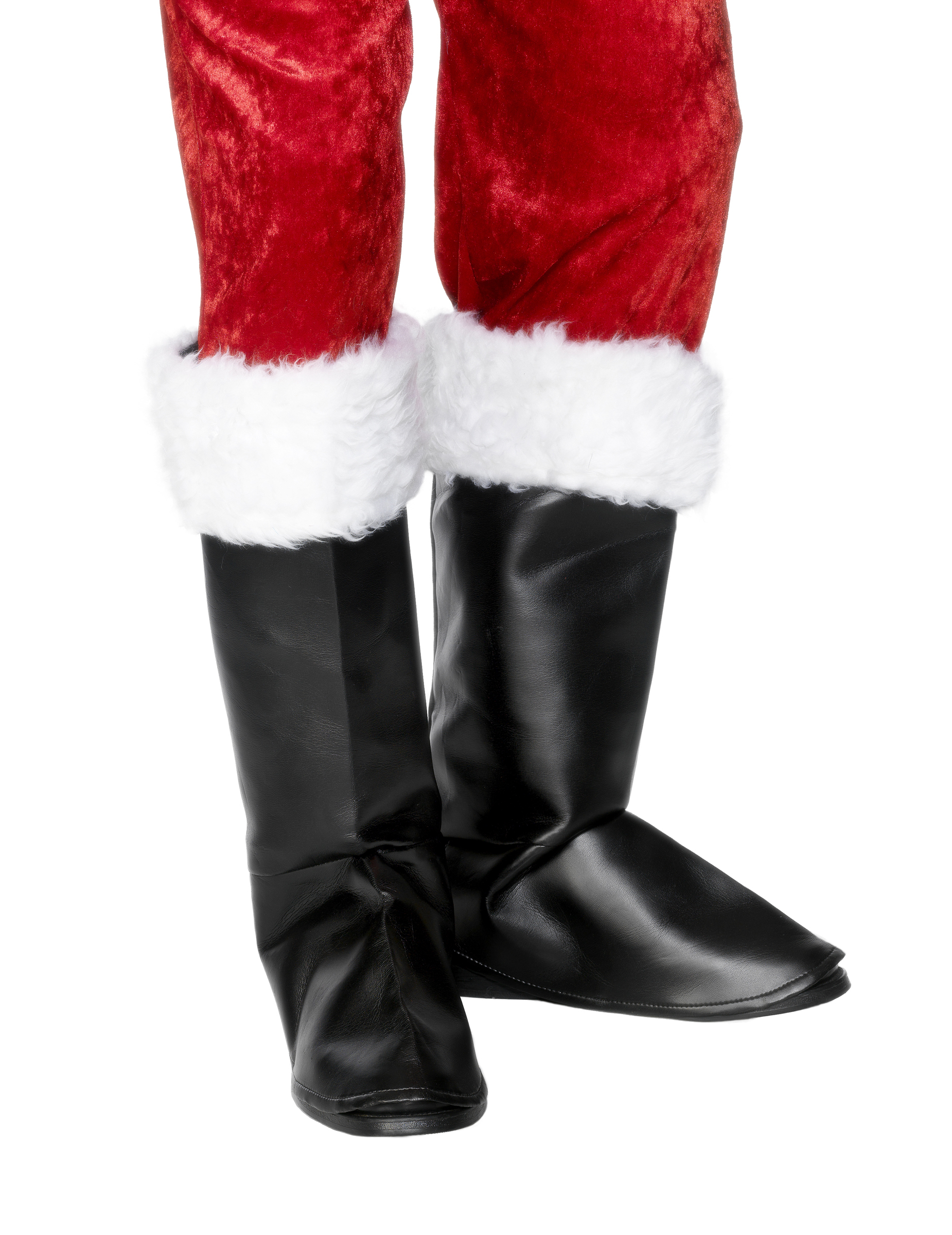 santa boot covers accessories and fancy dress costumes vegaoo. Black Bedroom Furniture Sets. Home Design Ideas