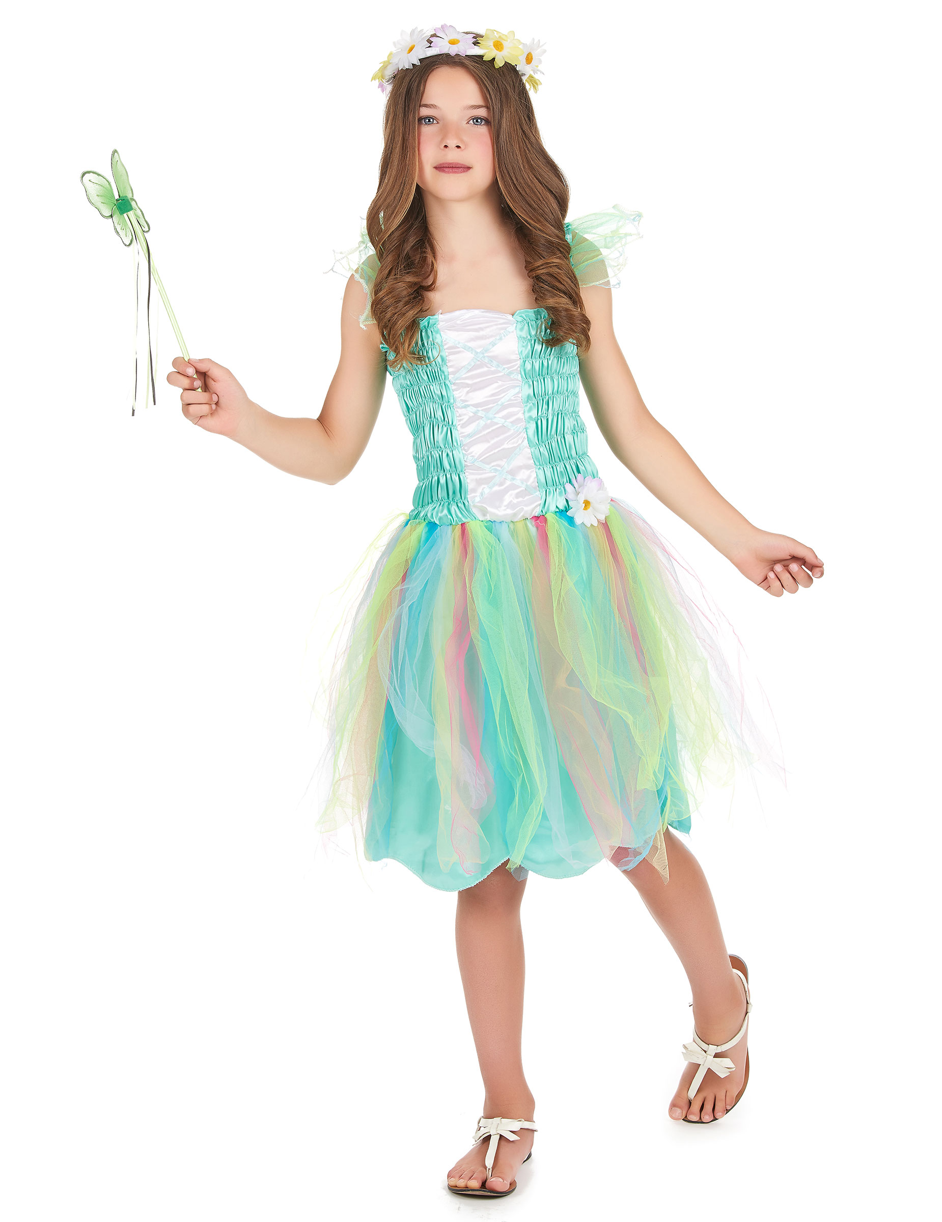 Flower Princess costume for girls
