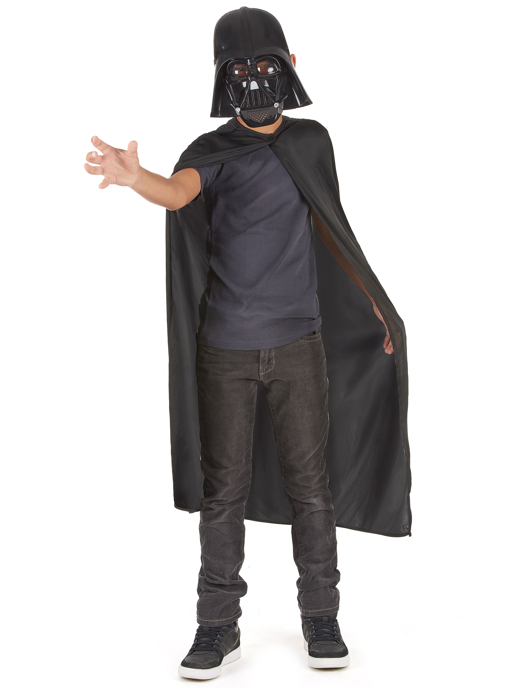 official darth vader kit for children kids costumes and fancy dress costumes vegaoo. Black Bedroom Furniture Sets. Home Design Ideas
