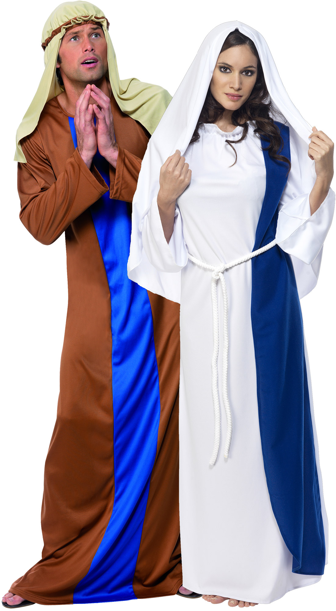 jesus and mary costume for couples. Black Bedroom Furniture Sets. Home Design Ideas