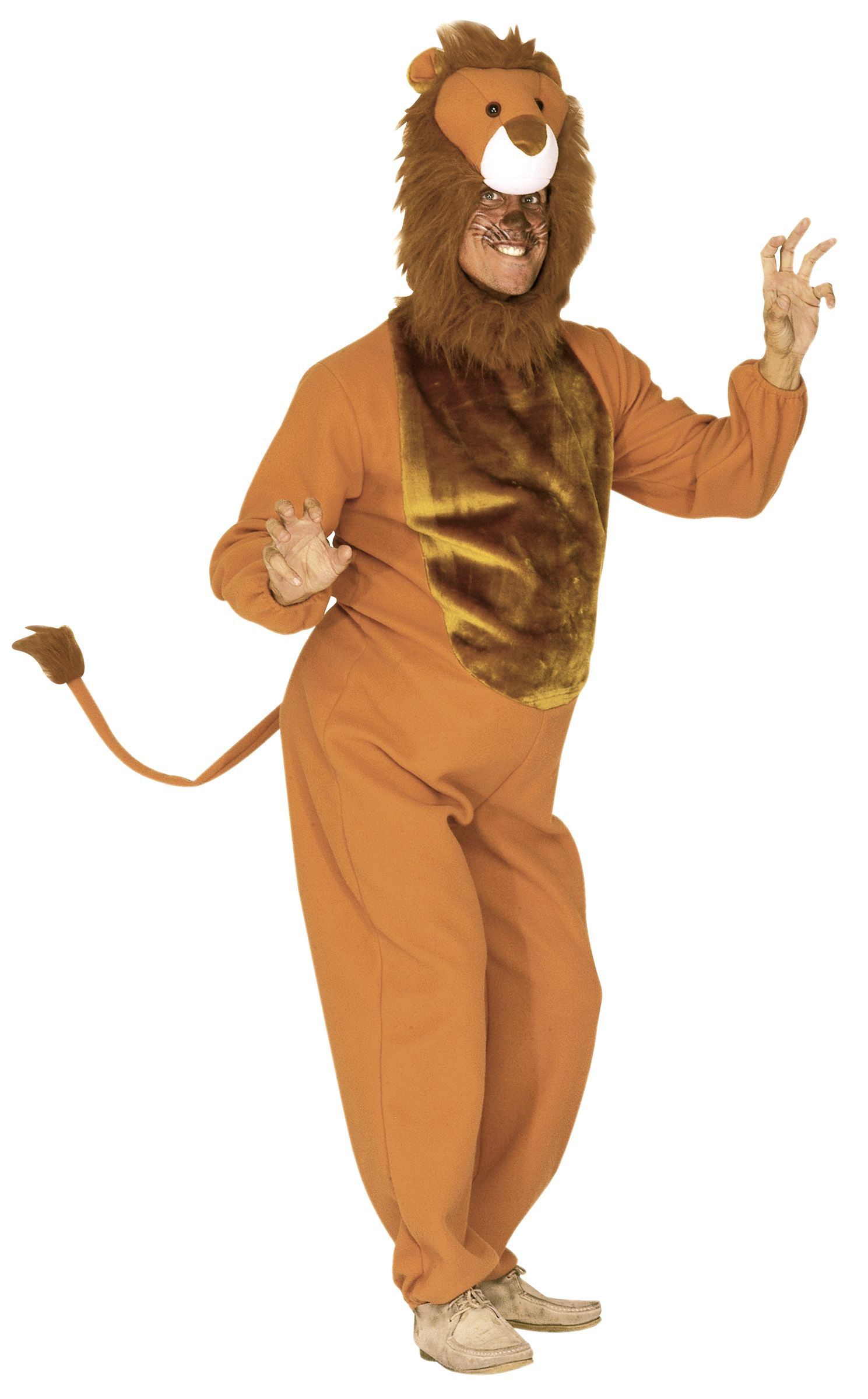 Costume lion diy adult