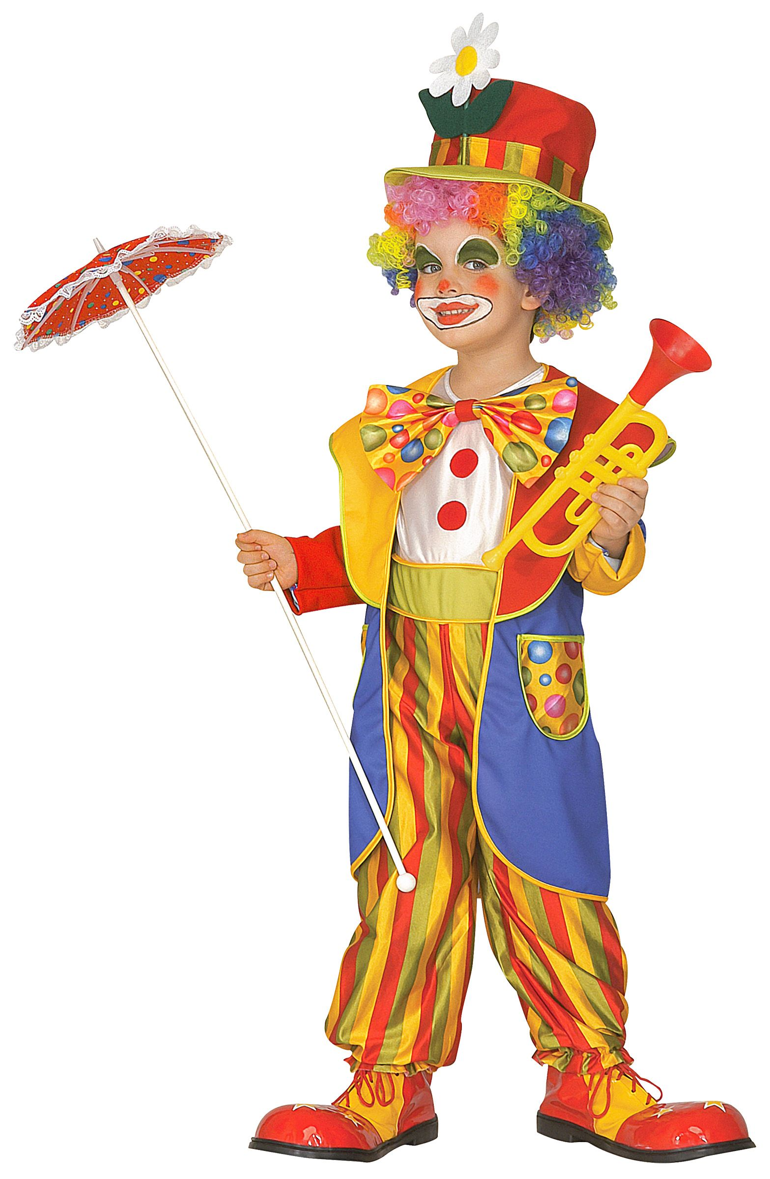 Main - Kids Costumes - Clown costume for children