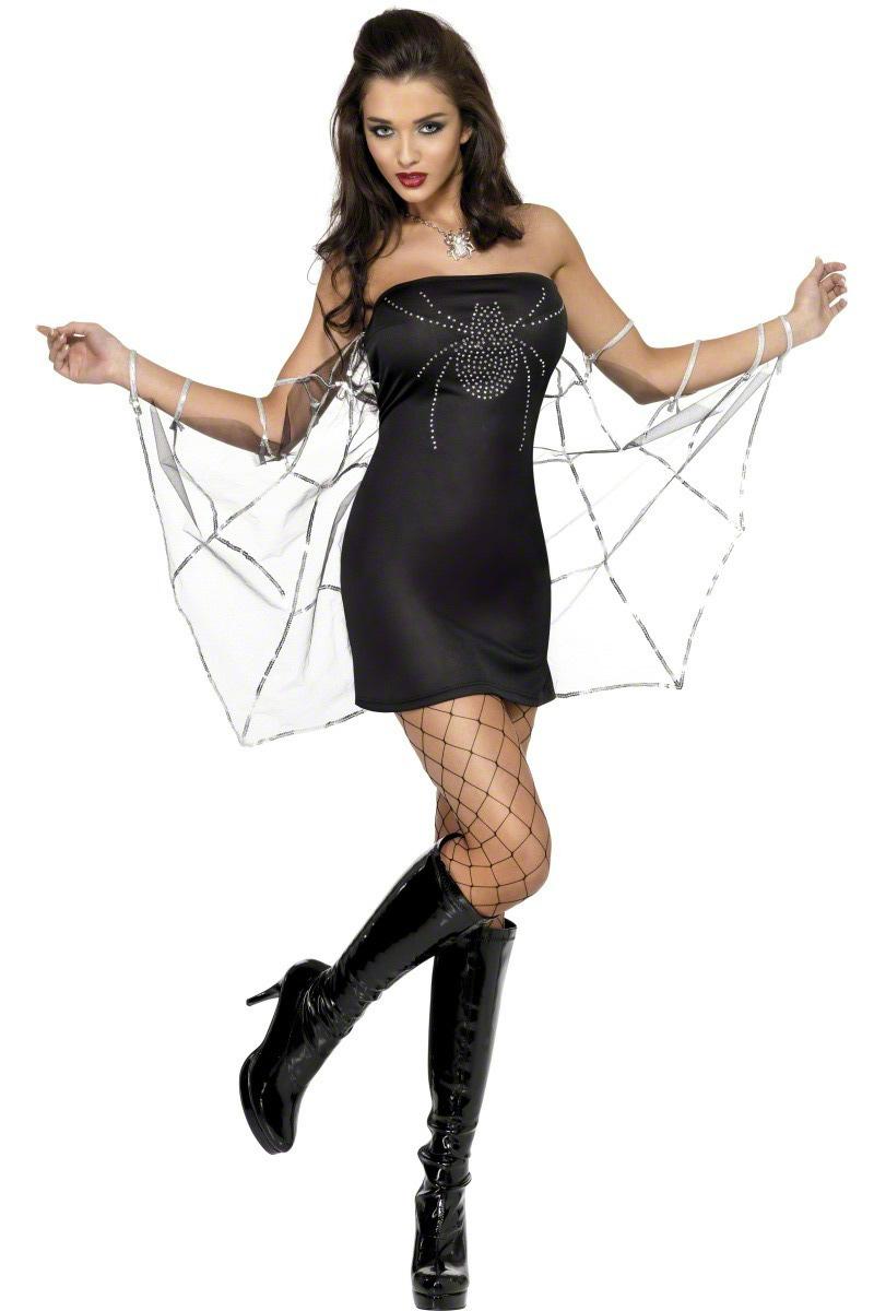 Halloween Spiderwoman Costume