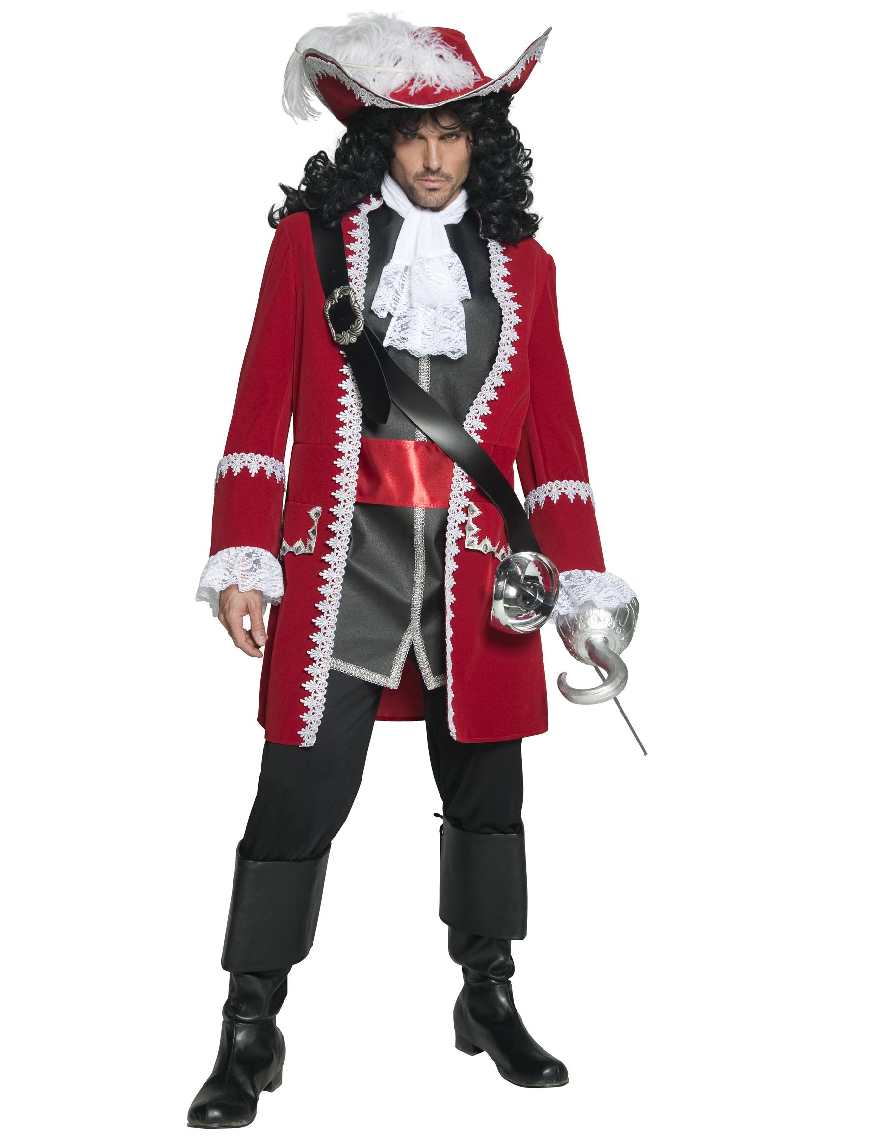 authentic pirate captain costume for men. Black Bedroom Furniture Sets. Home Design Ideas