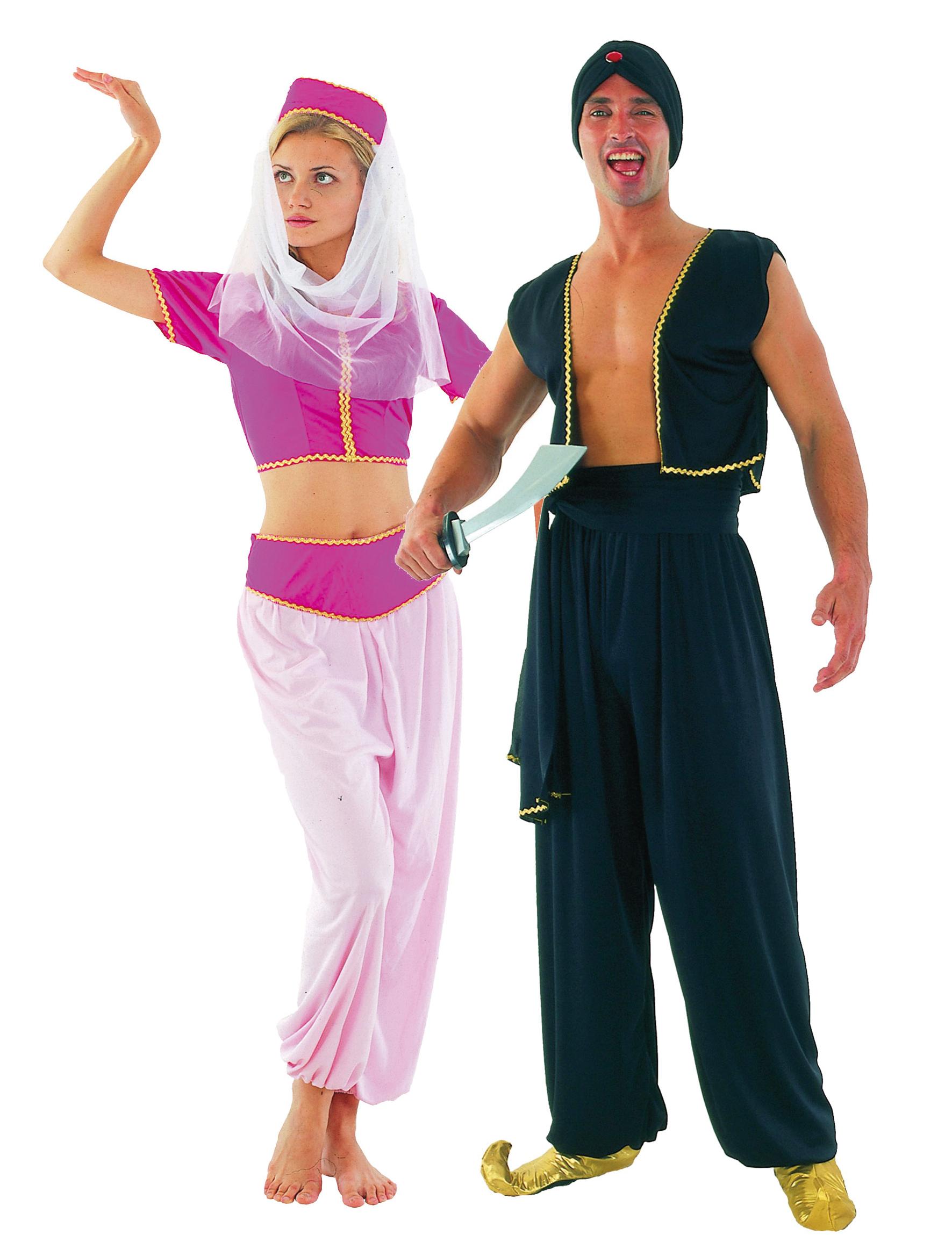 d guisement couple oriental deguise toi achat de d guisements couples. Black Bedroom Furniture Sets. Home Design Ideas