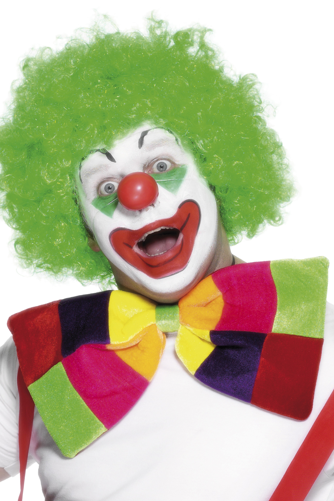 Noeud papillon multicolore deguise toi achat de accessoires for Decoration fenetre clown
