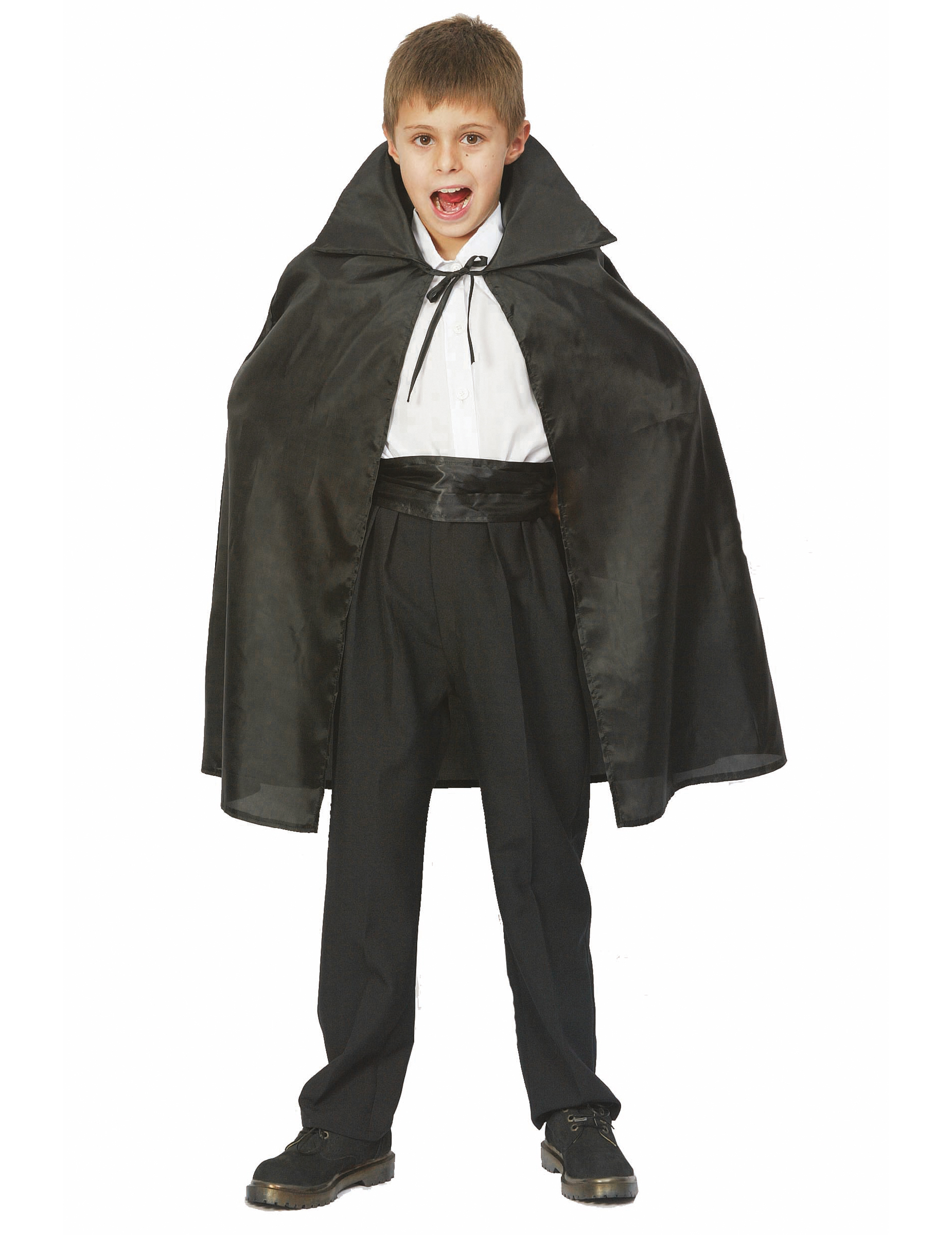 halloween vampire cape for children kids costumes and fancy dress costumes vegaoo. Black Bedroom Furniture Sets. Home Design Ideas