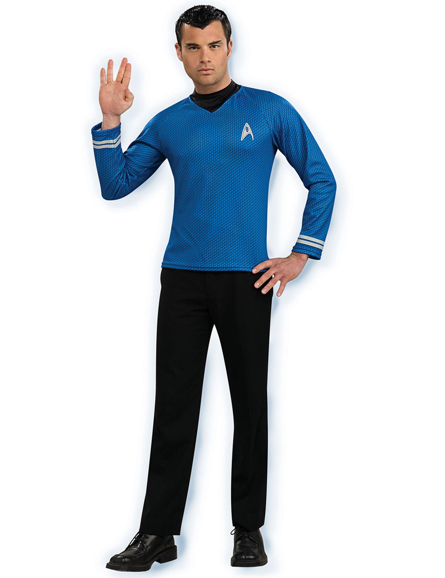 d guisement bleu spock star trek homme deguise toi achat de d guisements adultes. Black Bedroom Furniture Sets. Home Design Ideas