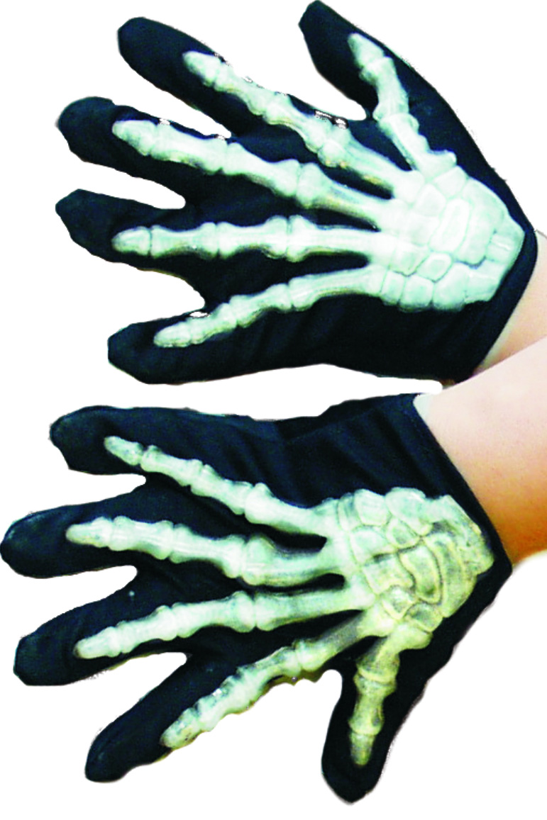 gant halloween accessoire deguisement garcon