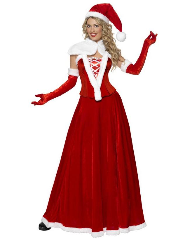 deguisement mere noel adultes Déguisement Mère Noël luxe femme : Deguise toi, achat de  deguisement mere noel adultes