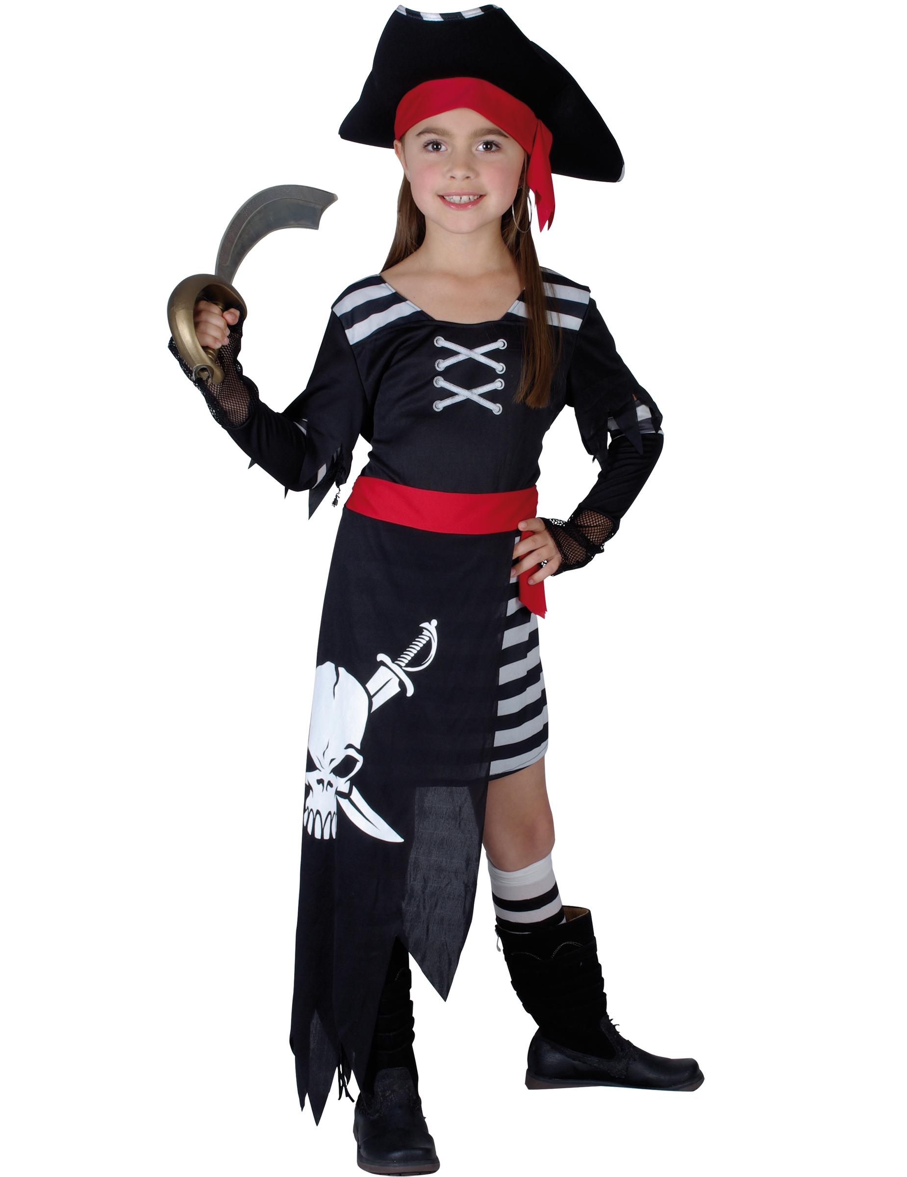 D guisement pirate fille deguise toi achat de d guisements enfants - Maquillage pirate fille ...