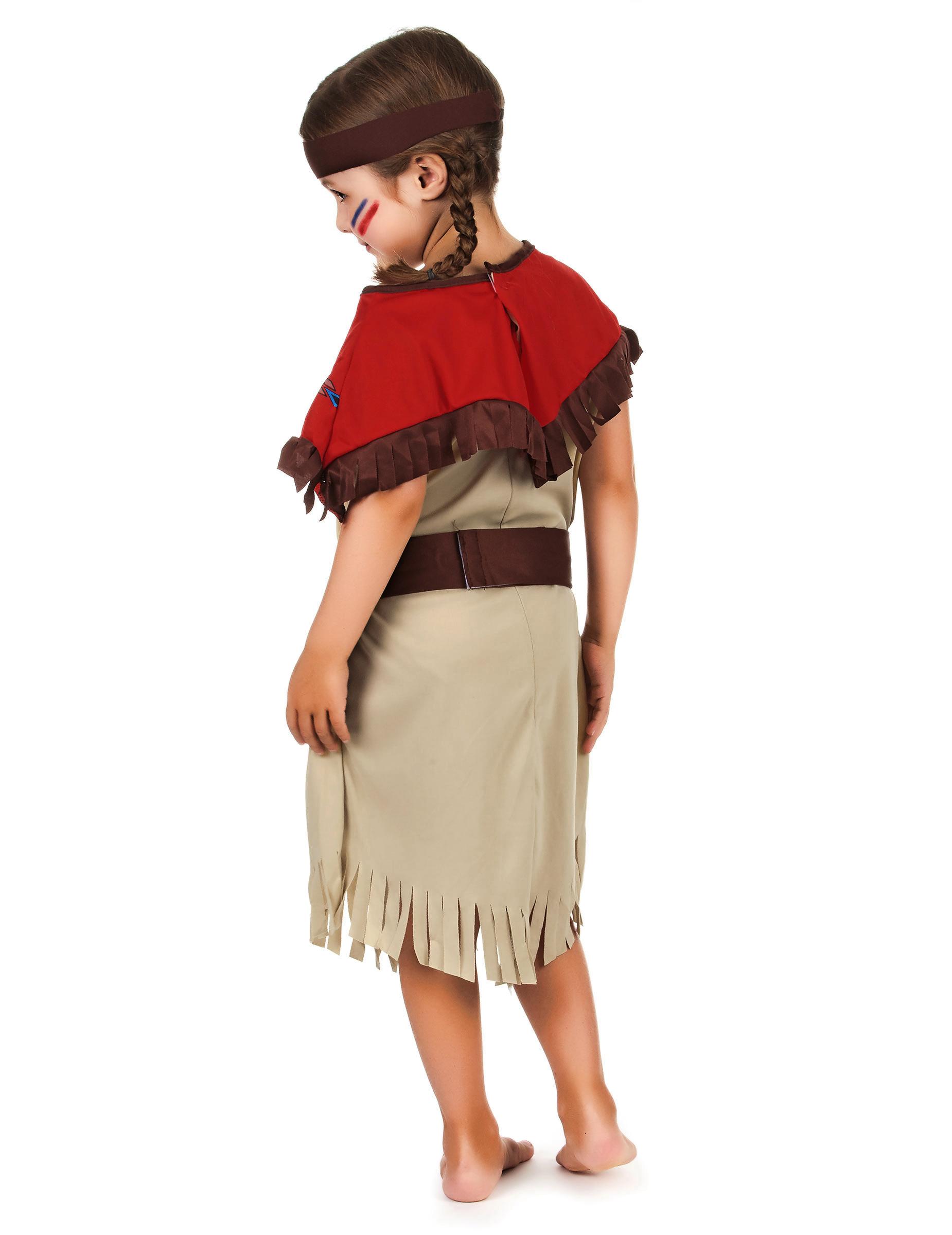 Costume de fille indienne maison