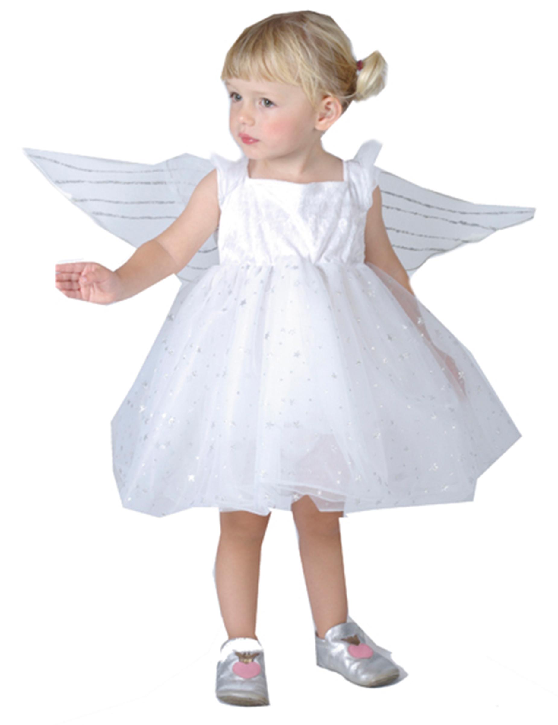 Disfraz de princesa de los ngeles para ni a peque a - Disfraces de angel para nina ...