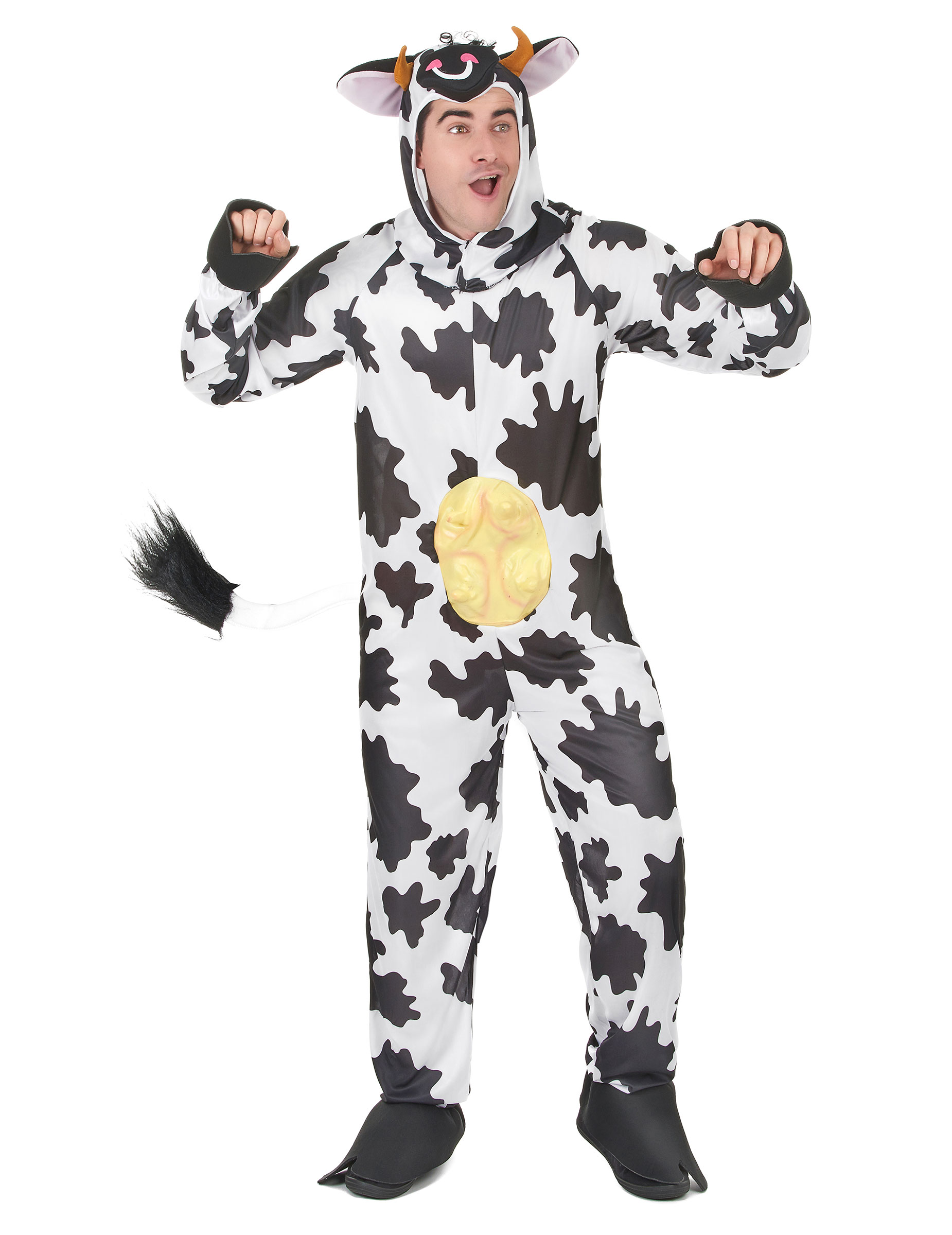 Main - Adults Costumes - Funny cow costume for adults