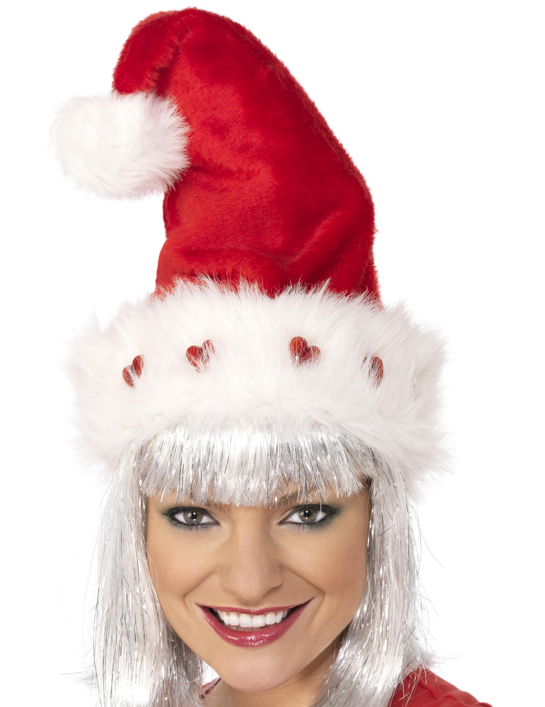 Bonnet de Noël de luxe adulte