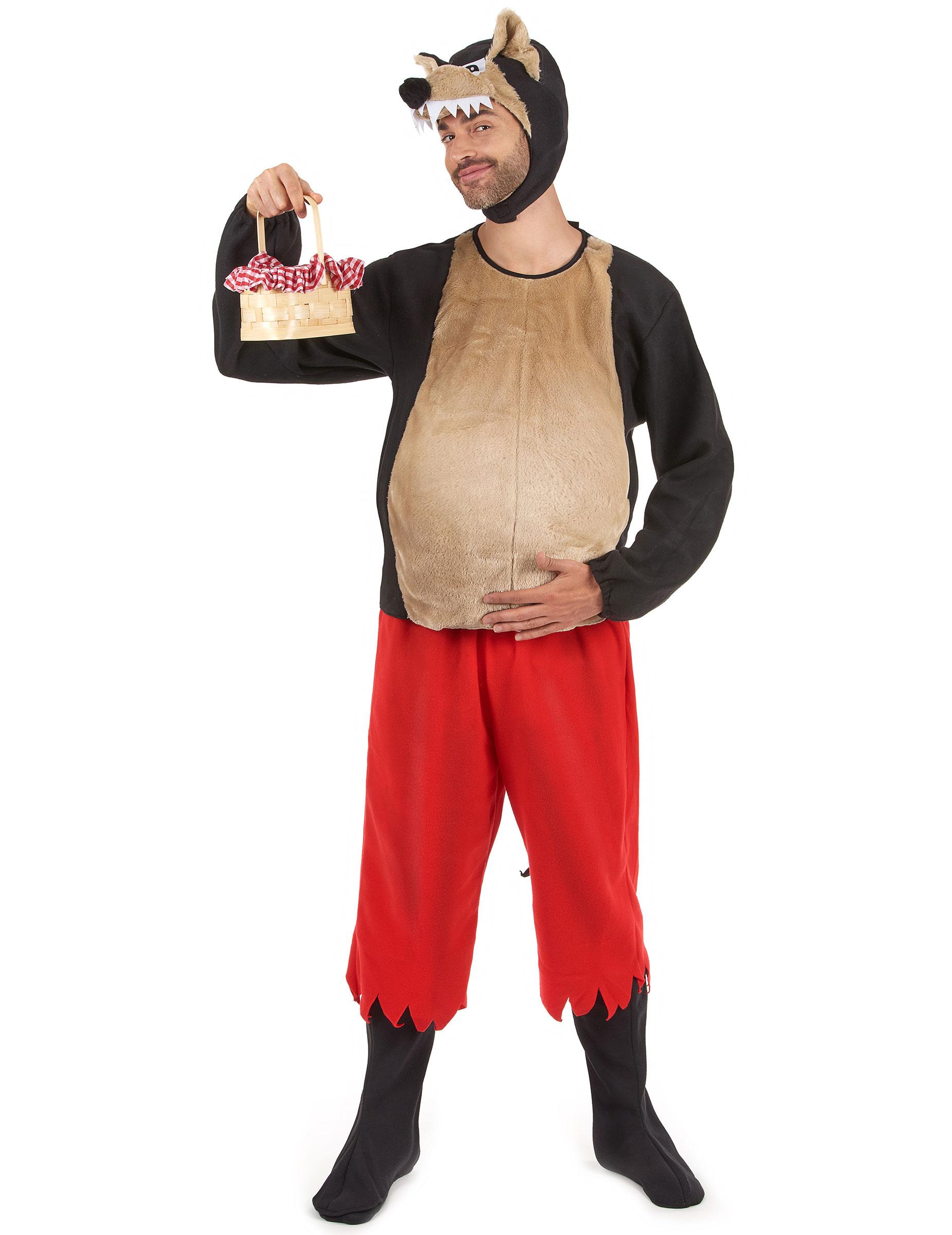 Disfraz del lobo feroz de Caperucita roja