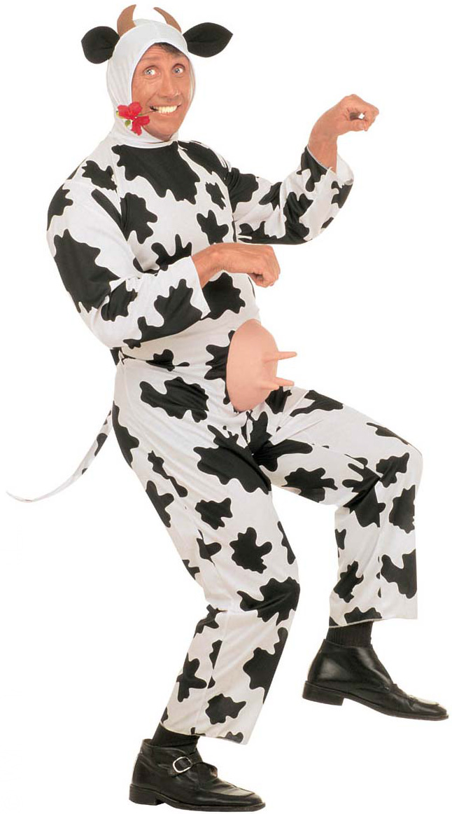 cow costume for men adults costumes and fancy dress costumes vegaoo. Black Bedroom Furniture Sets. Home Design Ideas