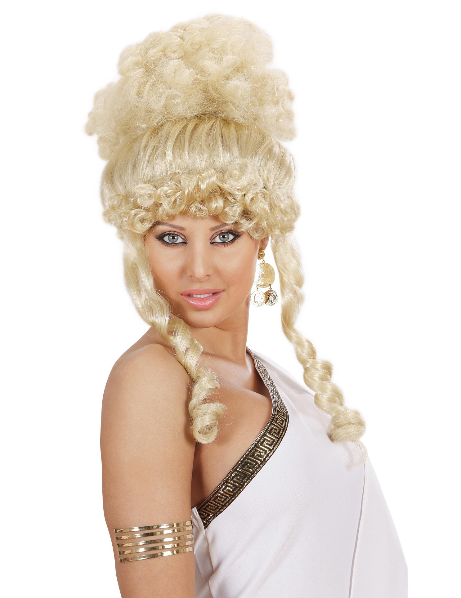 perruque d u00e9esse blonde femme  achat de perruques sur vegaoopro  grossiste en d u00e9guisements