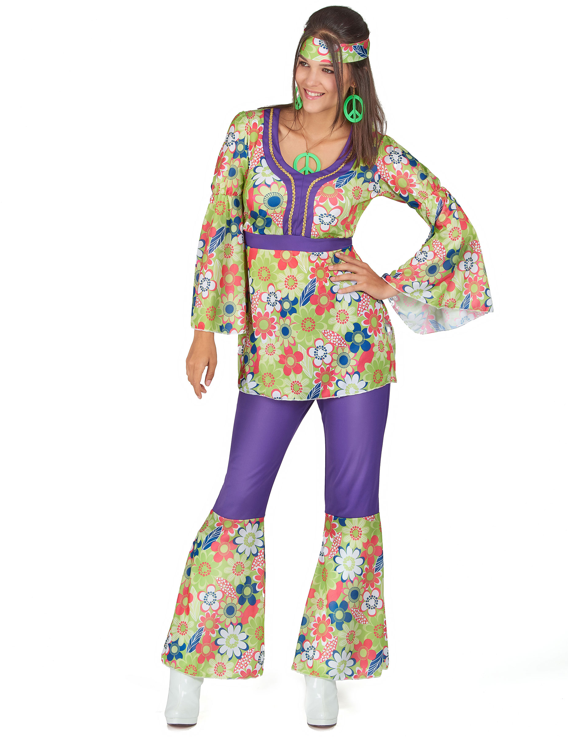 Hippy costume for women