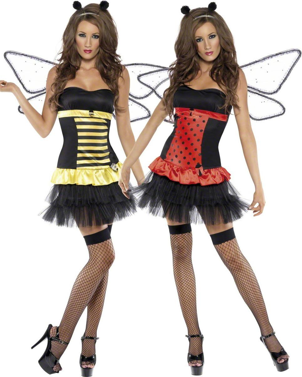 d guisement coccinelle r versible abeille femme deguise. Black Bedroom Furniture Sets. Home Design Ideas