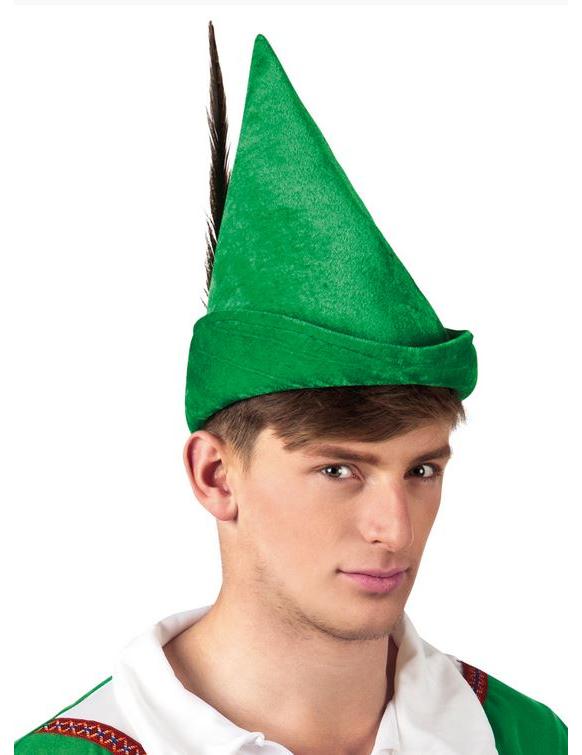 Green Robin Hood hat  Hats, and fancy dress costumes  Vegaoo ~ Costume Robin Des Bois