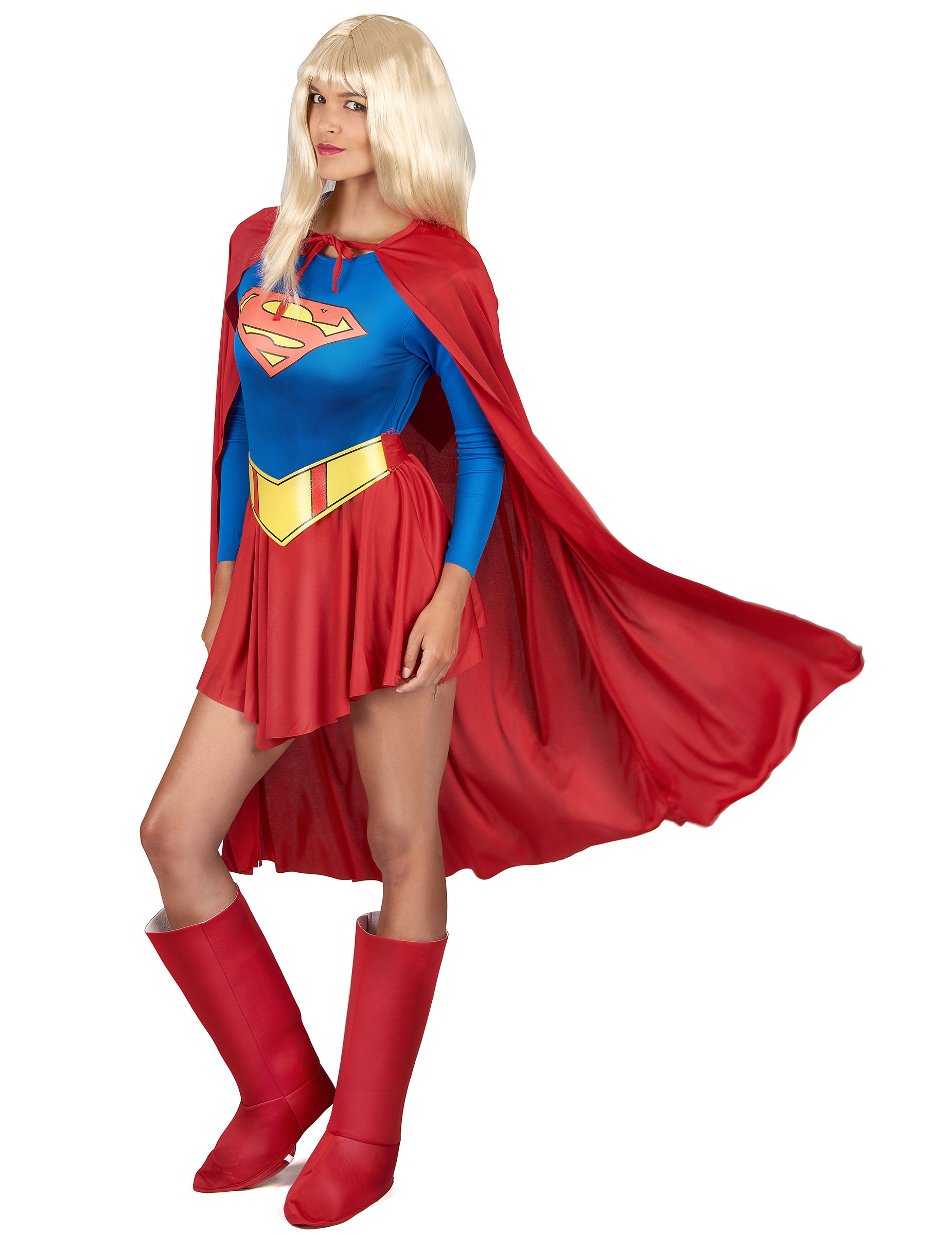 d guisement supergirl femme deguise toi achat de. Black Bedroom Furniture Sets. Home Design Ideas