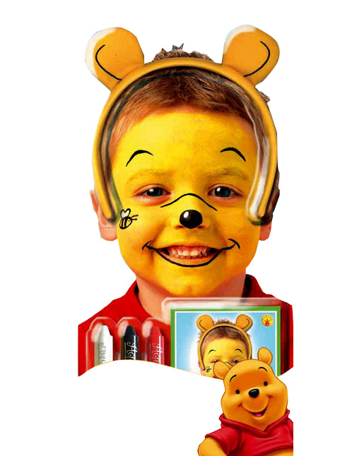 Kit winnie l 39 ourson enfant deguise toi achat de maquillage - Tete winnie l ourson ...