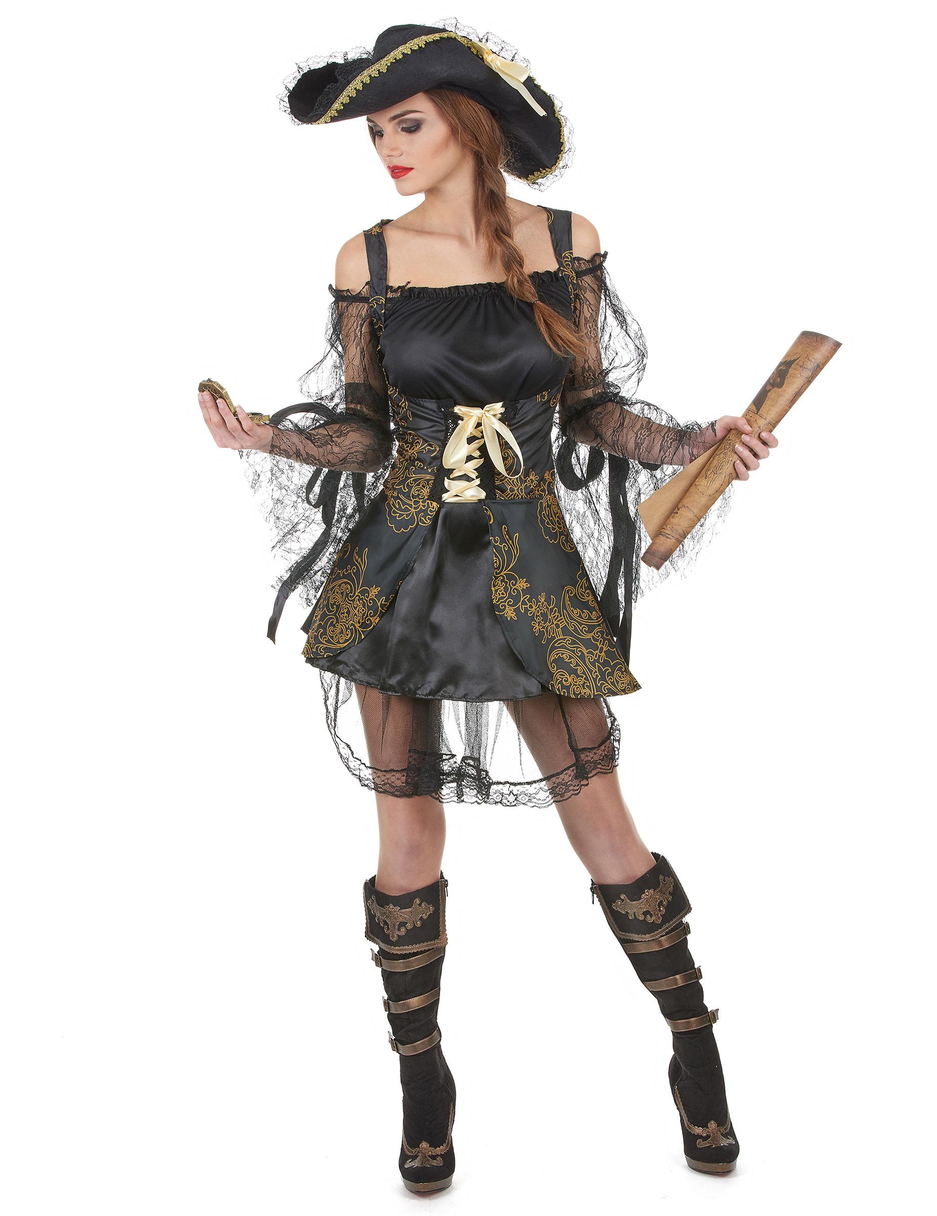 Costume De Pirate Femme Gamme Luxe