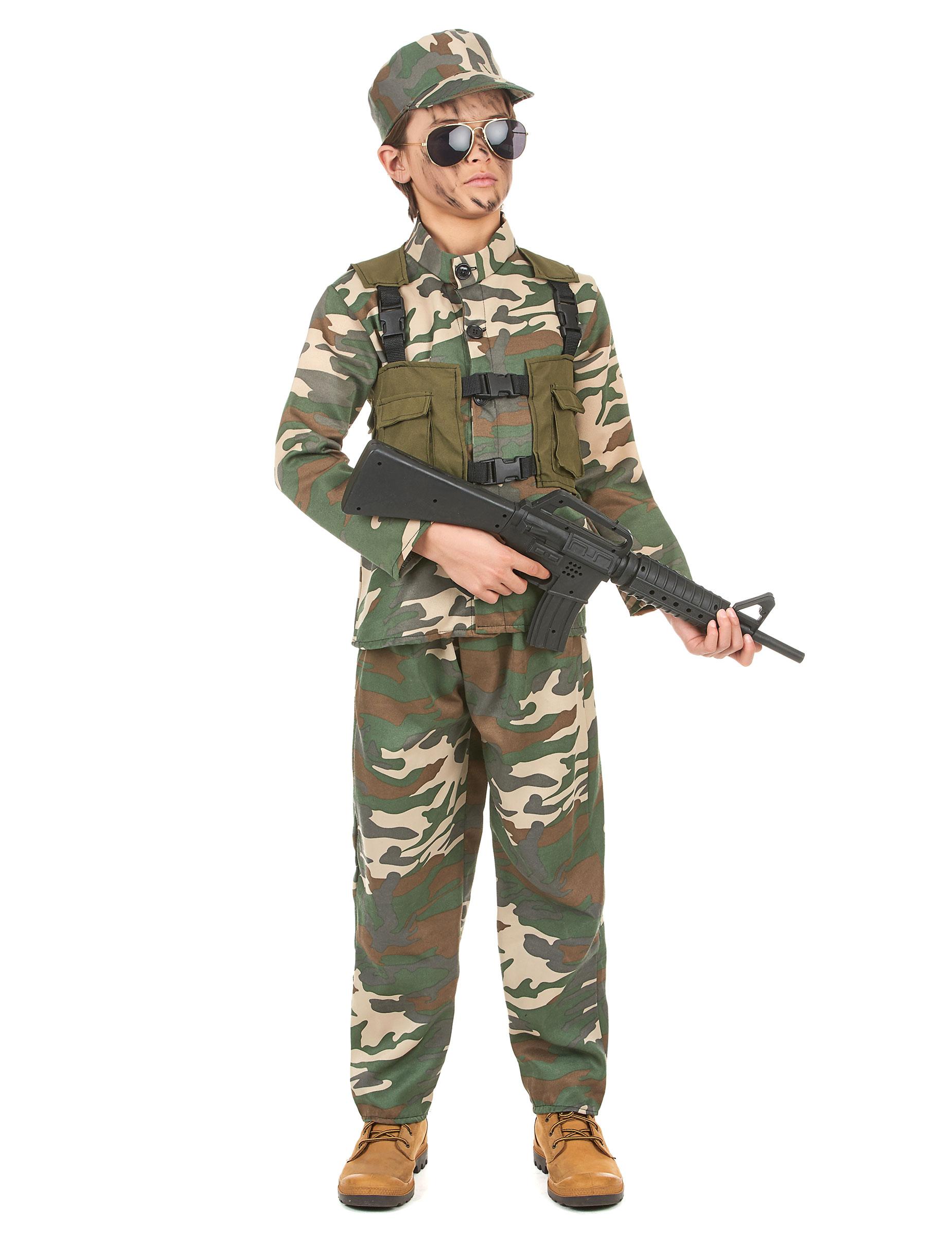 deguisement militaire garcon