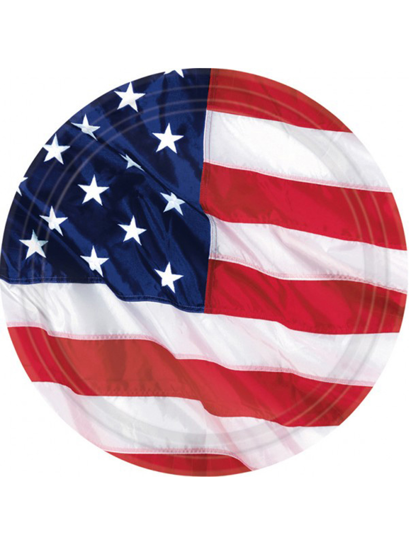 American flag plates decorations and fancy dress for American flag decoration