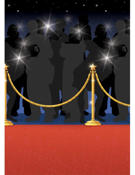 Decorative Red Carpet Backdrop Decorations And Fancy