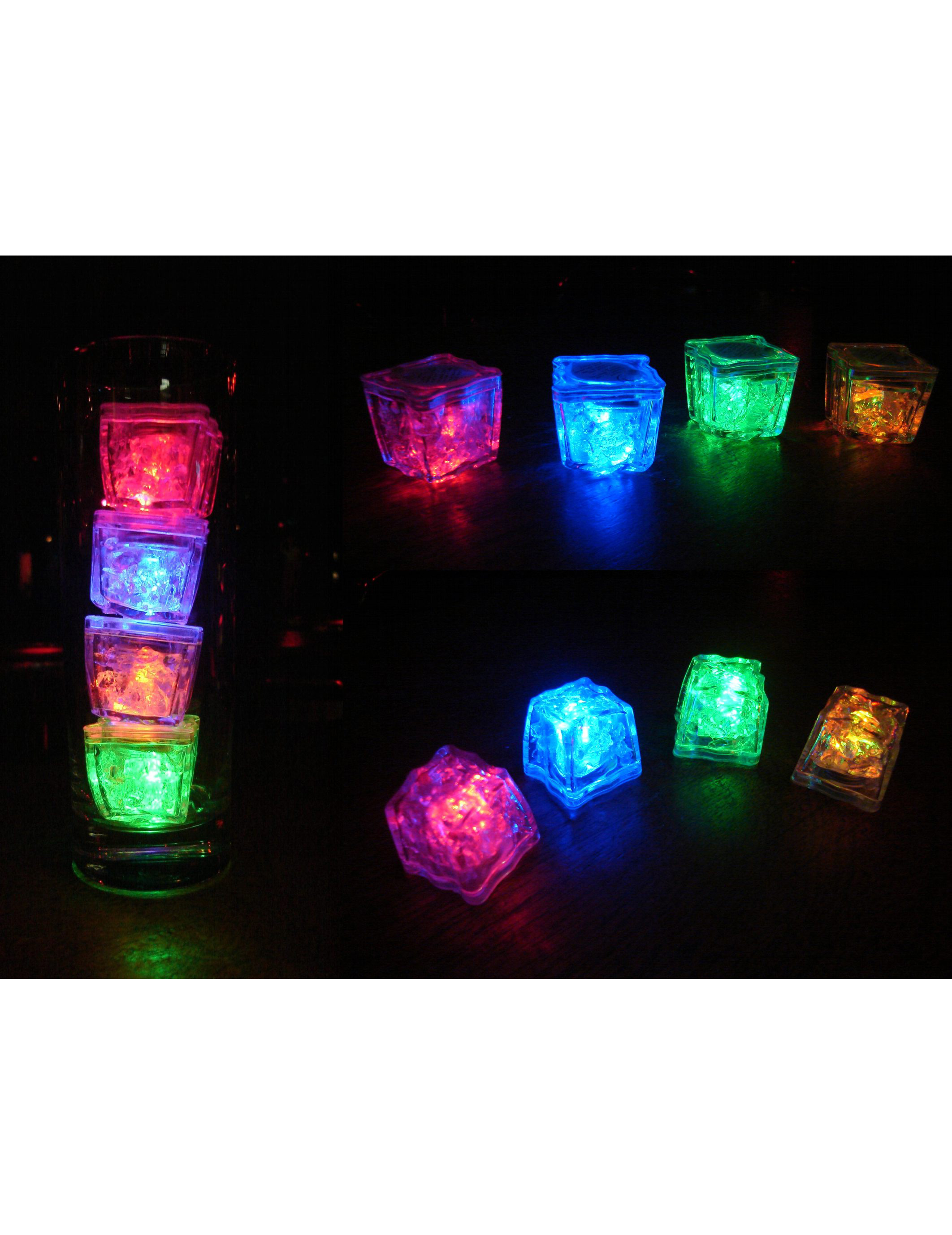 Gla ons lumineux led deguise toi achat de decoration - Cube lumineux led pas cher ...