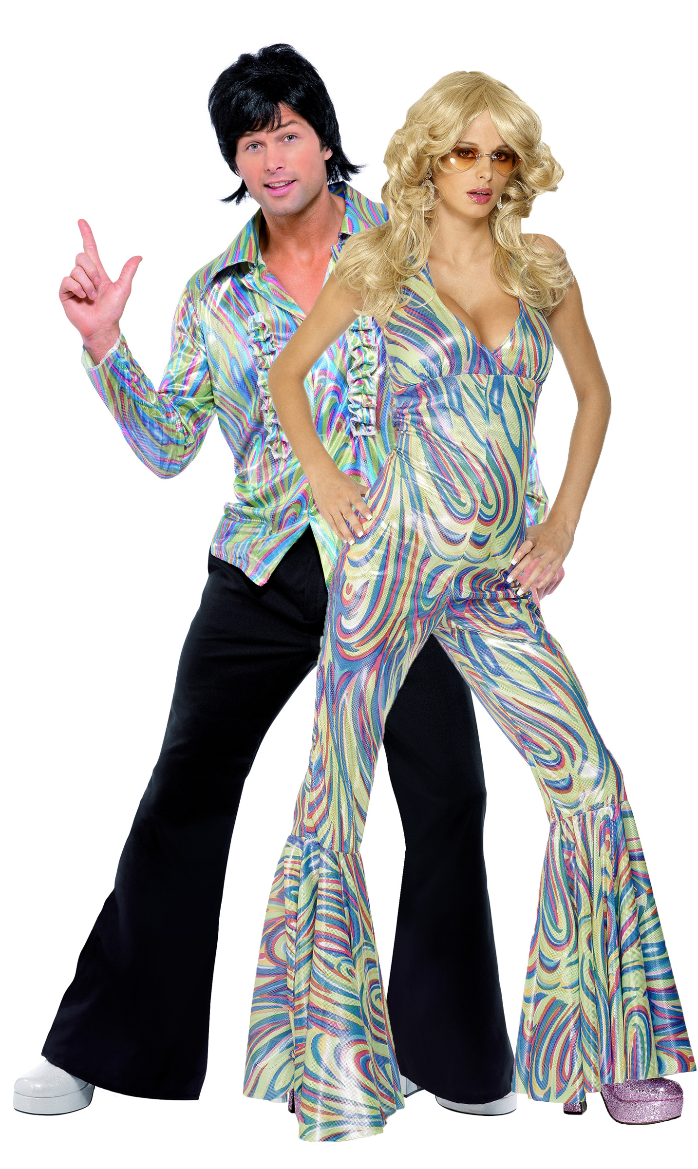 disco costumes for couple