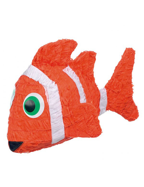 Pi ata poisson clown deguise toi achat de decoration for Poisson clown achat